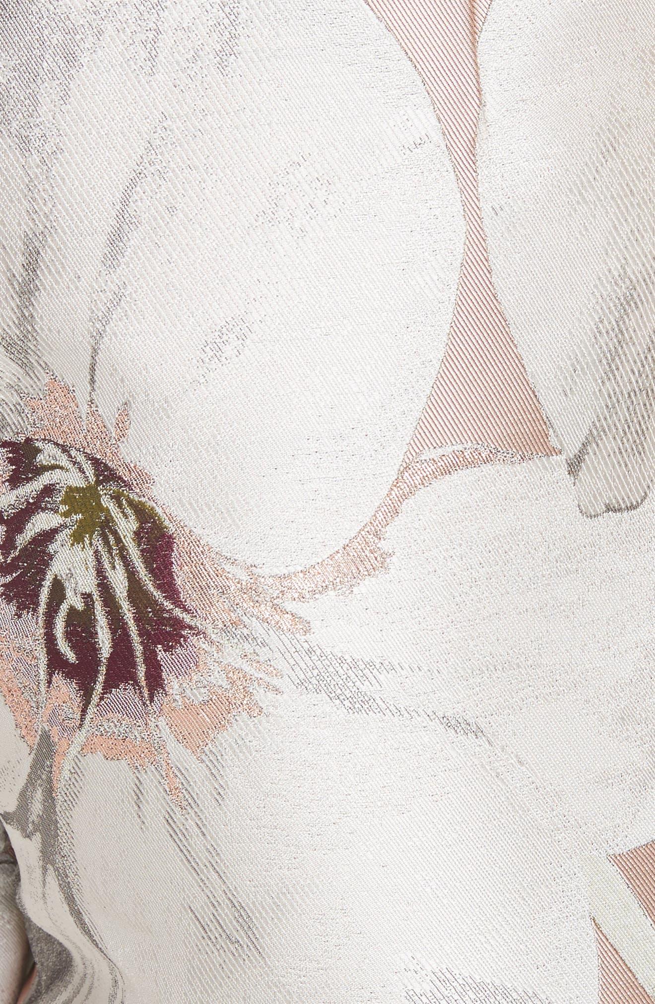 Alternate Image 5  - Ted Baker London Chatsworth Jacquard Shorts