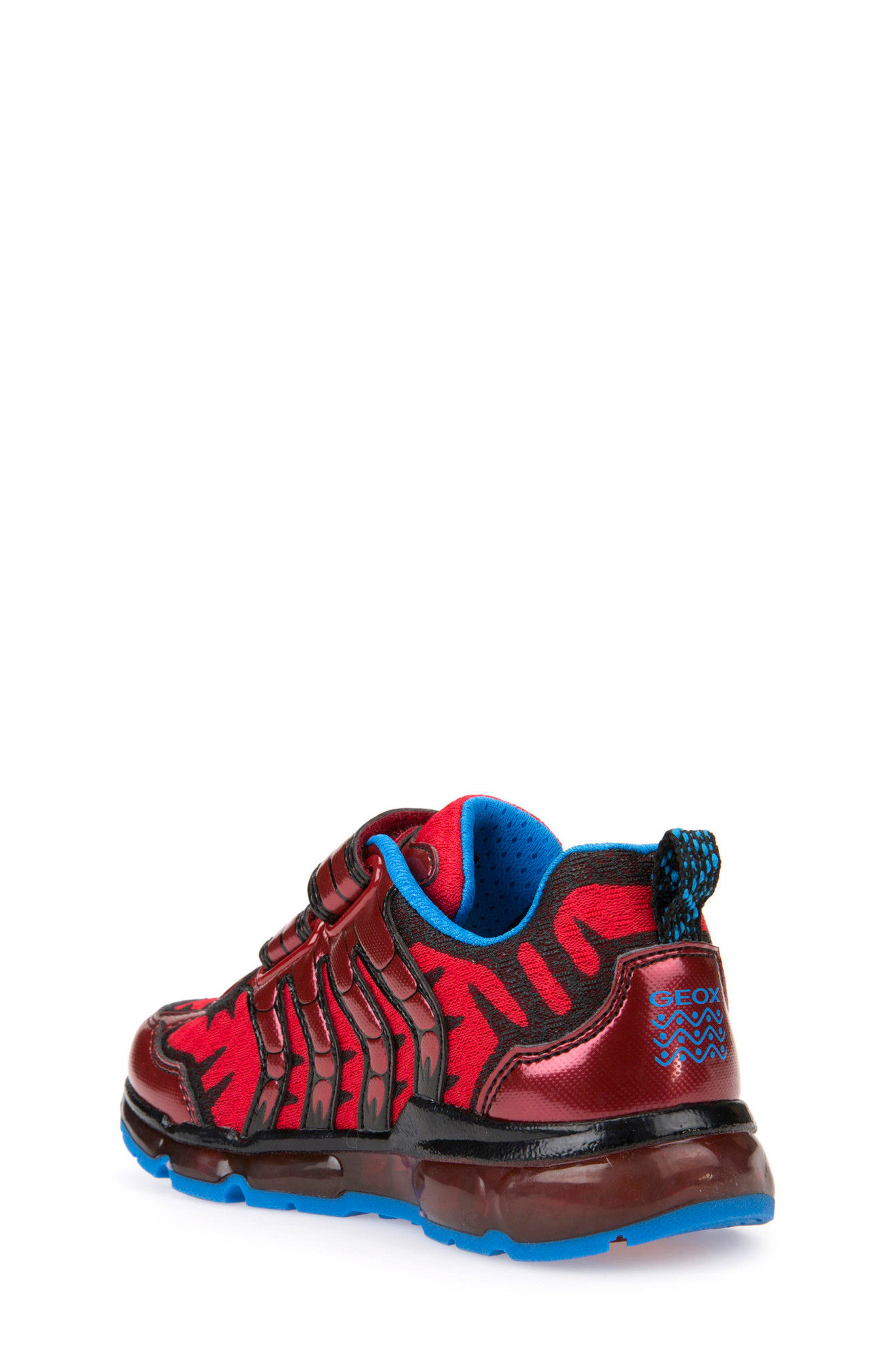 Android Light-Up Sneaker,                             Alternate thumbnail 2, color,                             Red