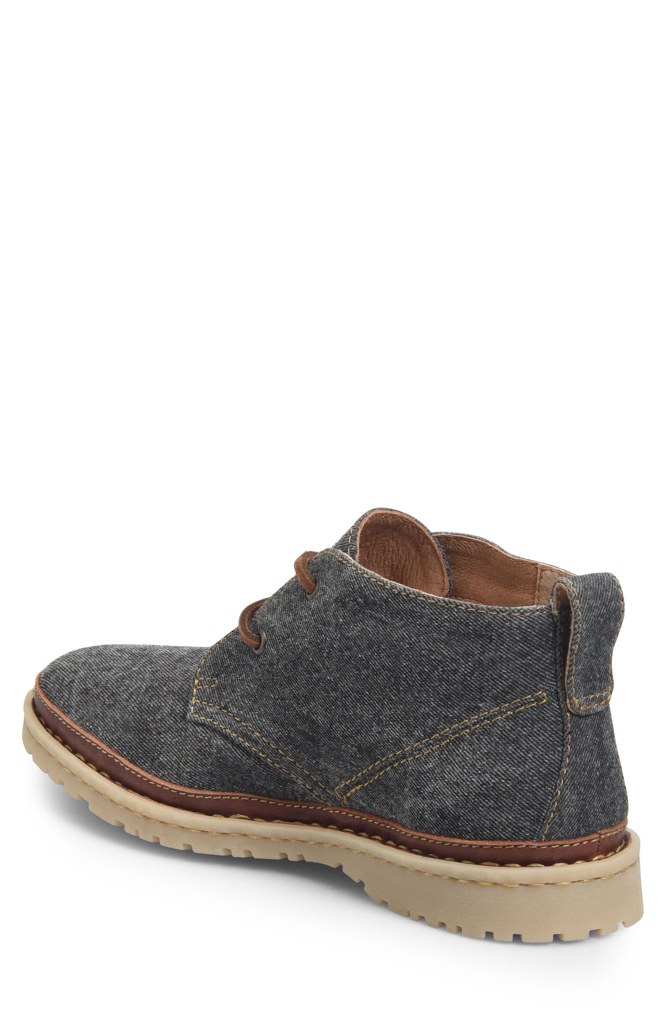 Elk II Chukka Boot,                             Alternate thumbnail 2, color,                             Dark Grey Fabric
