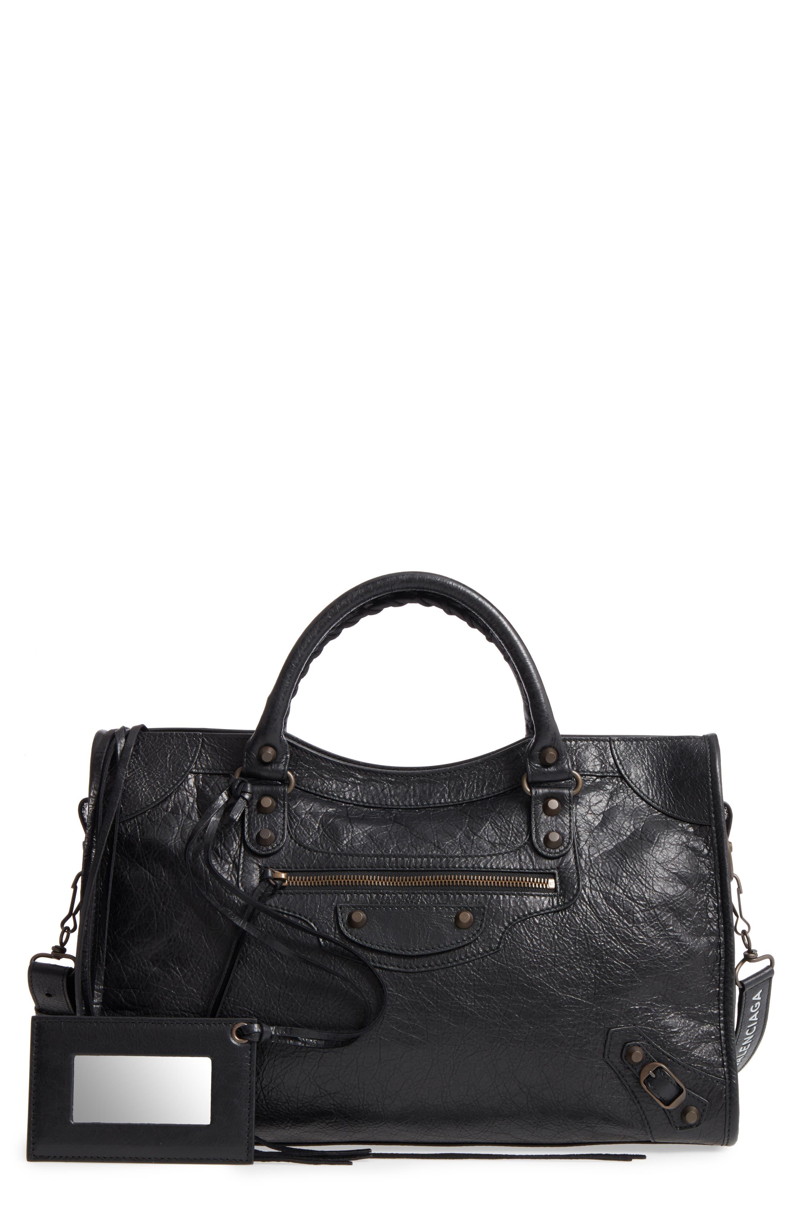 Balenciaga Woven Leather Bag
