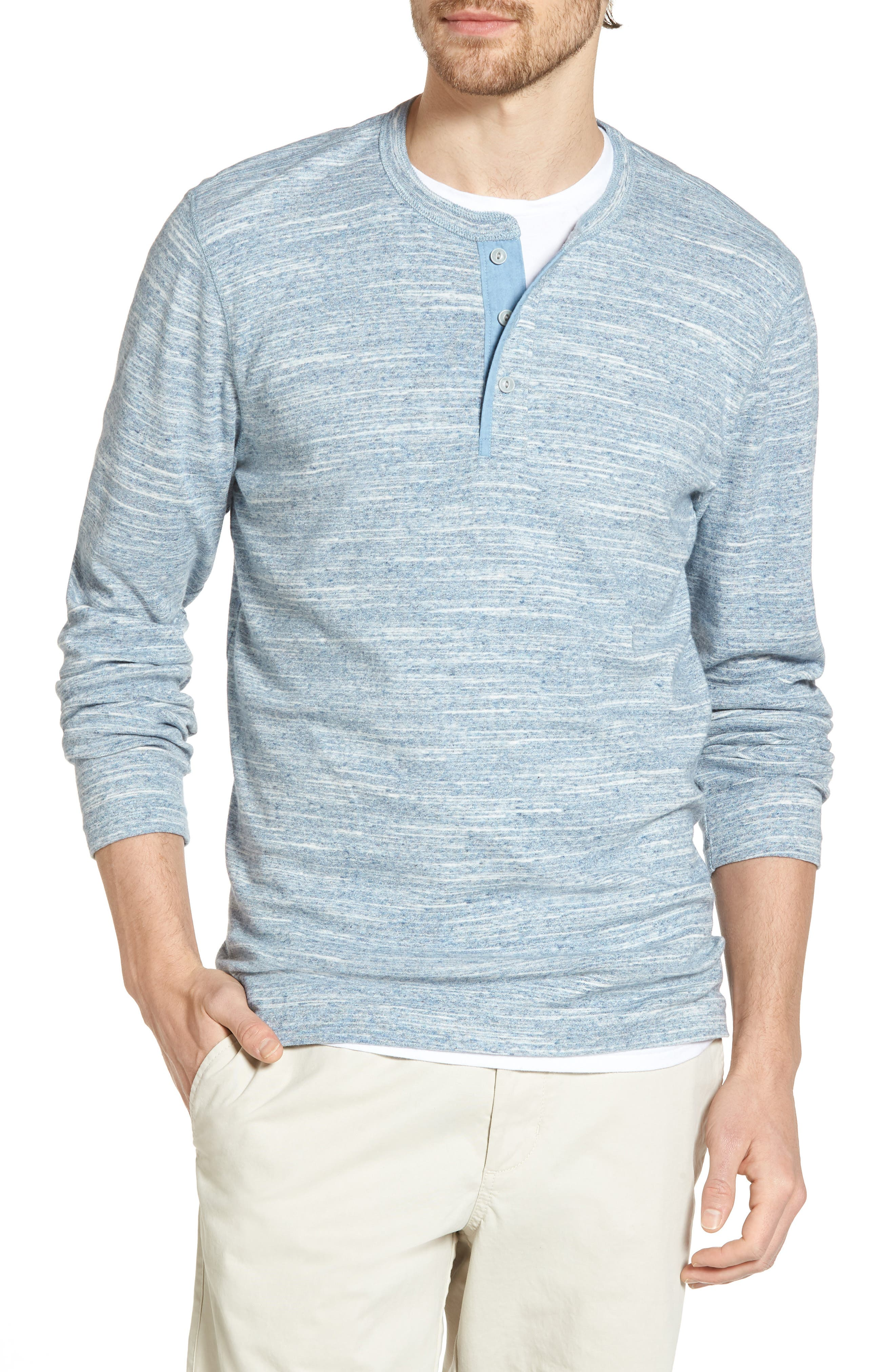 Alternate Image 1 Selected - 1901 Long Sleeve Henley