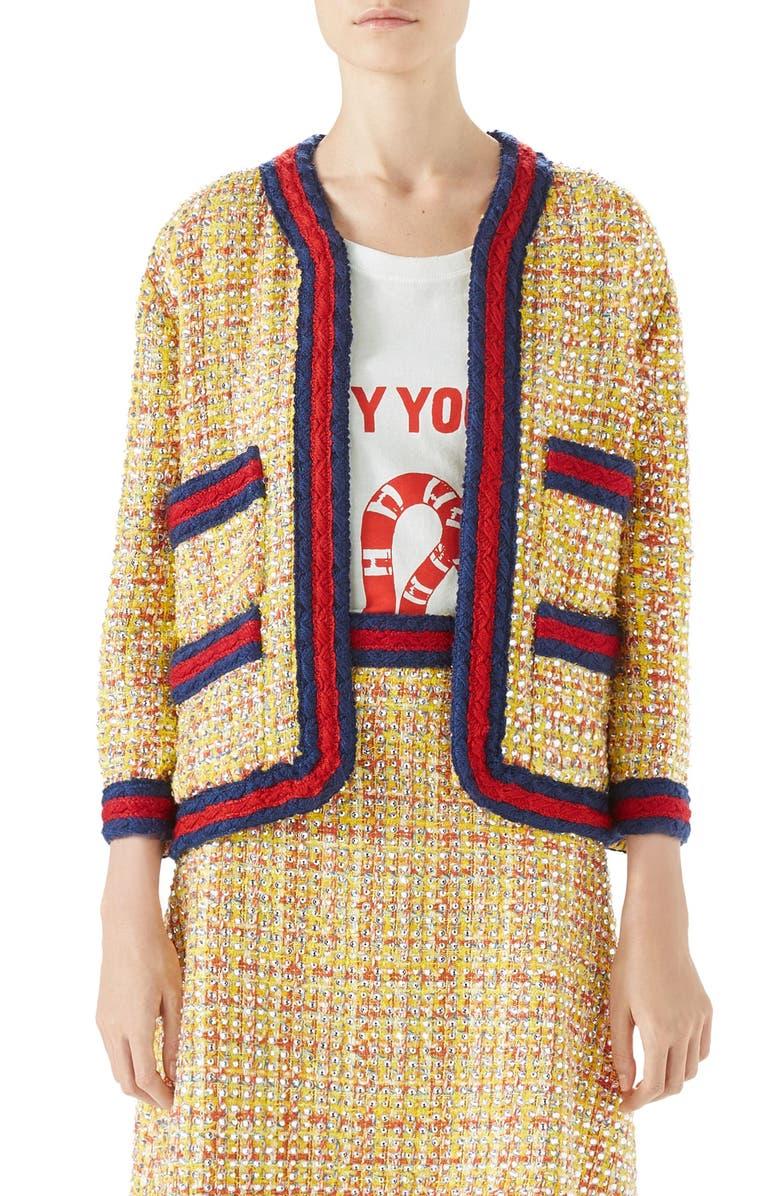 Crystal Tweed Jacket