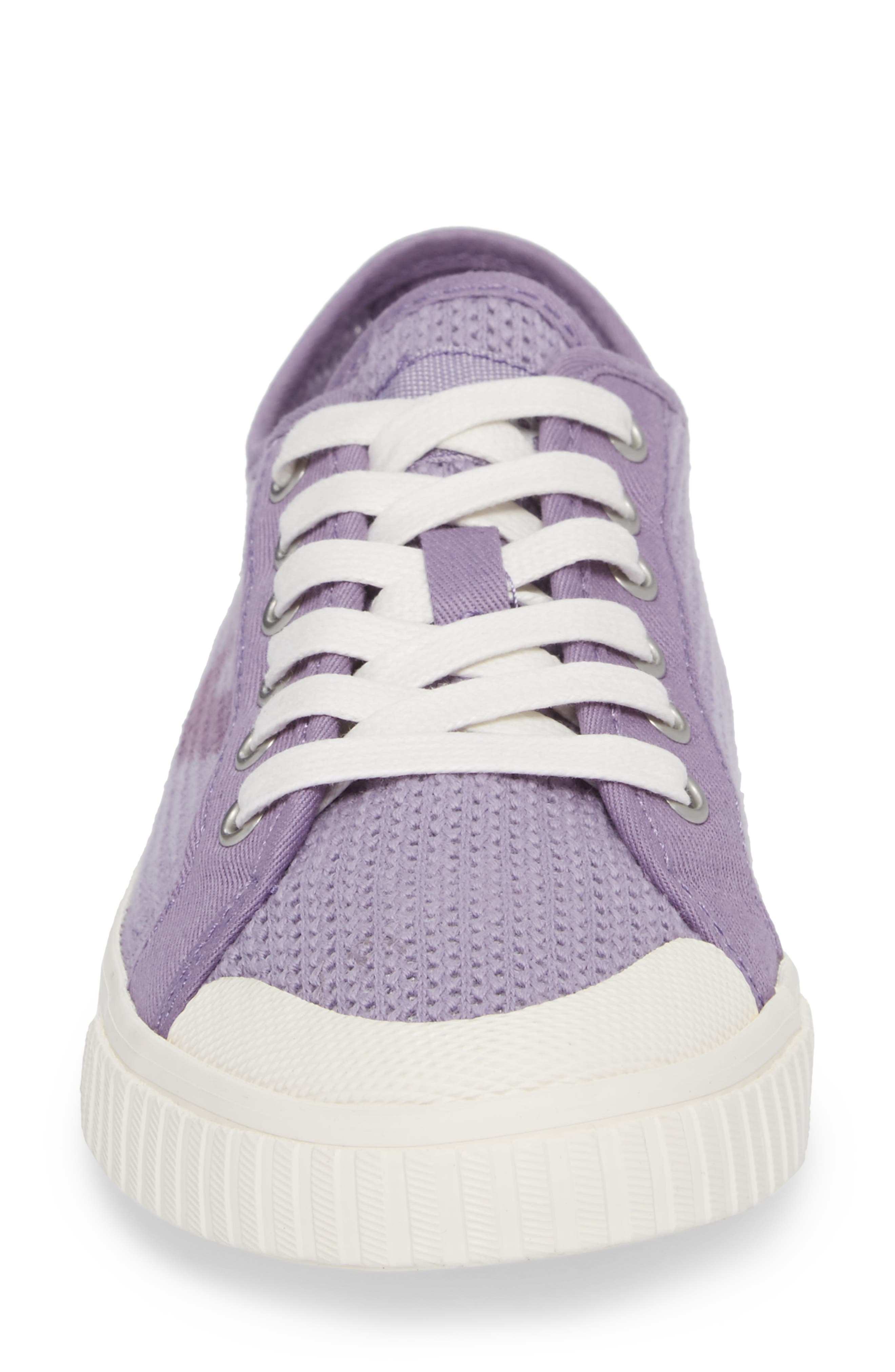 'Tournament Net' Sneaker,                             Alternate thumbnail 4, color,                             Lavender Cotton Mesh