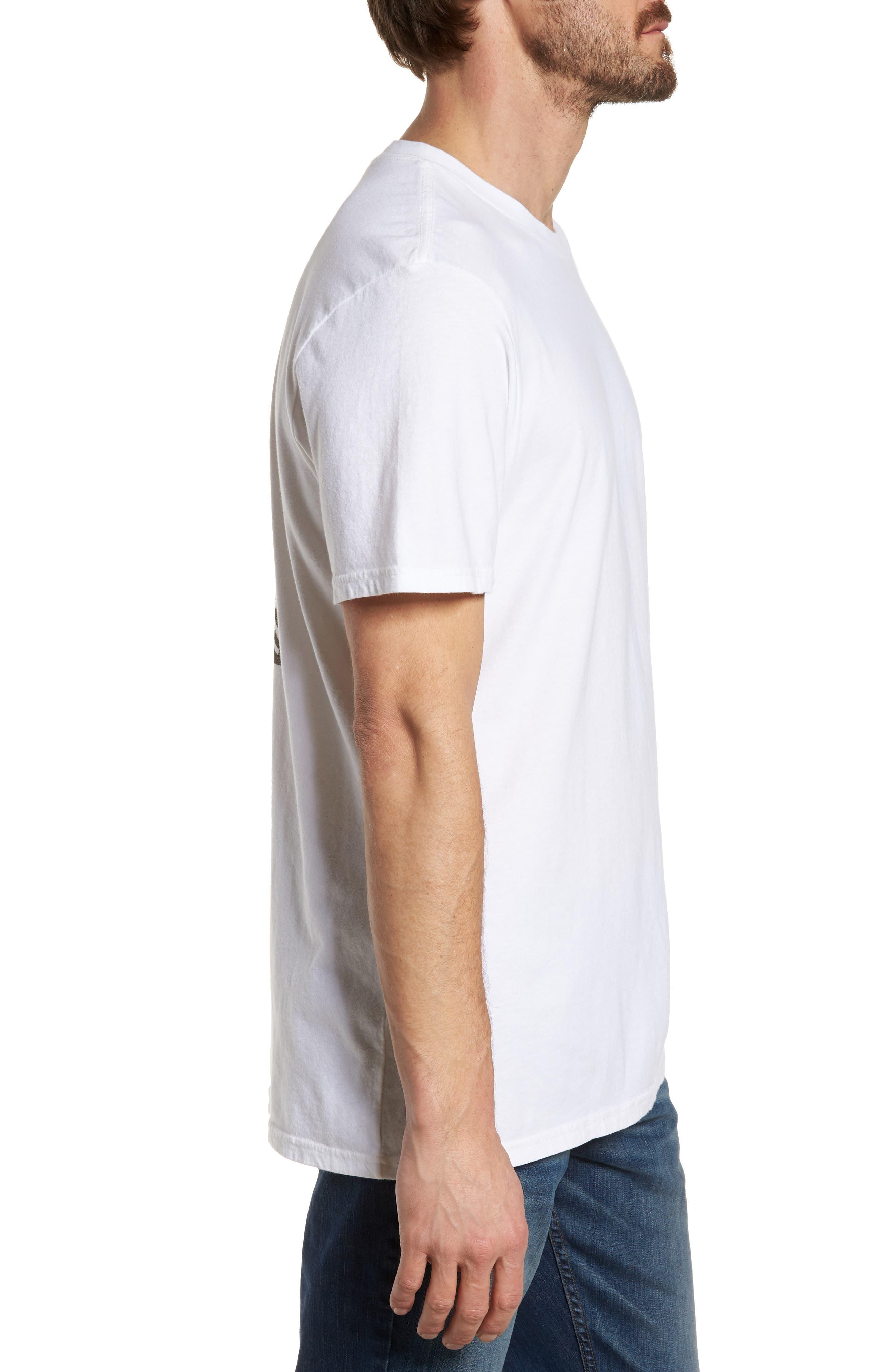x Warhol Dos Cabezas T-Shirt,                             Alternate thumbnail 3, color,                             Vintage White