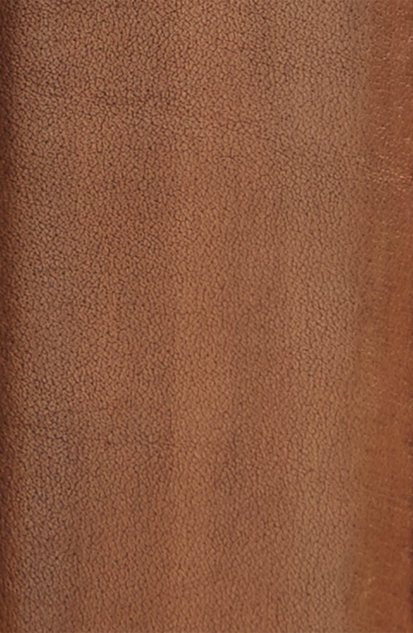 Leather Belt,                             Alternate thumbnail 2, color,                             Chester