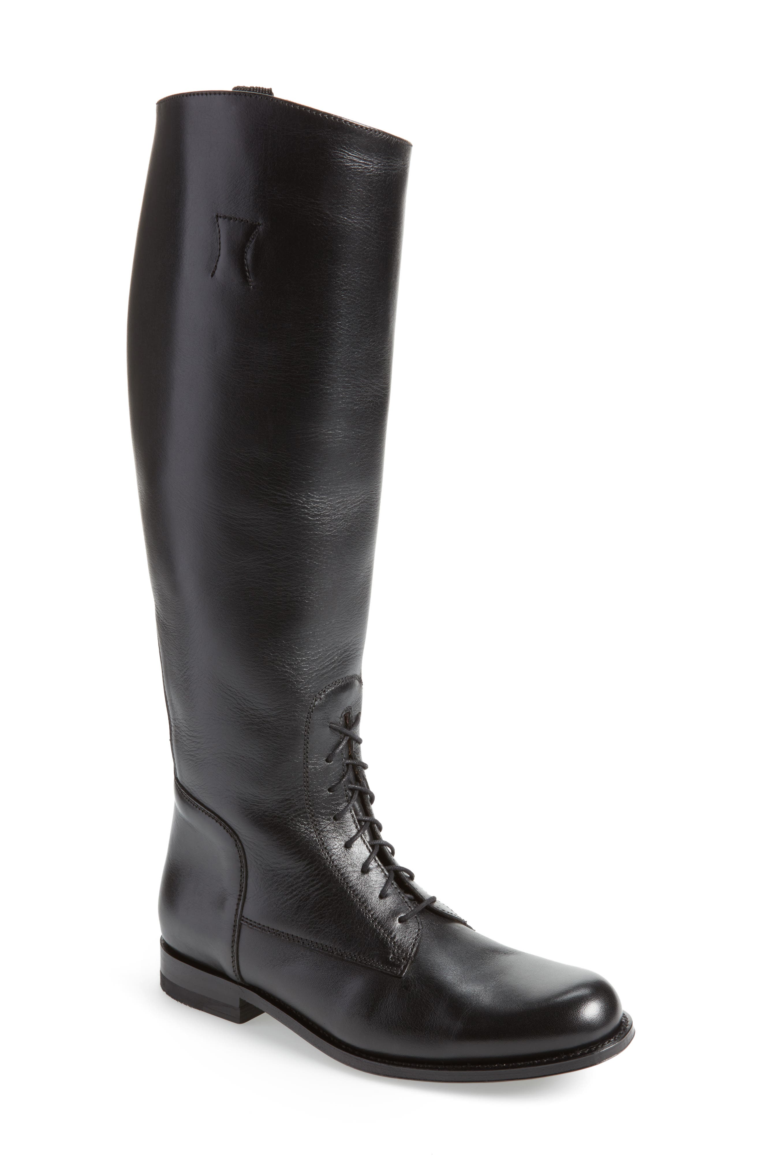 Two24 by Ariat Palencia Boot,                             Main thumbnail 1, color,                             Black Leather