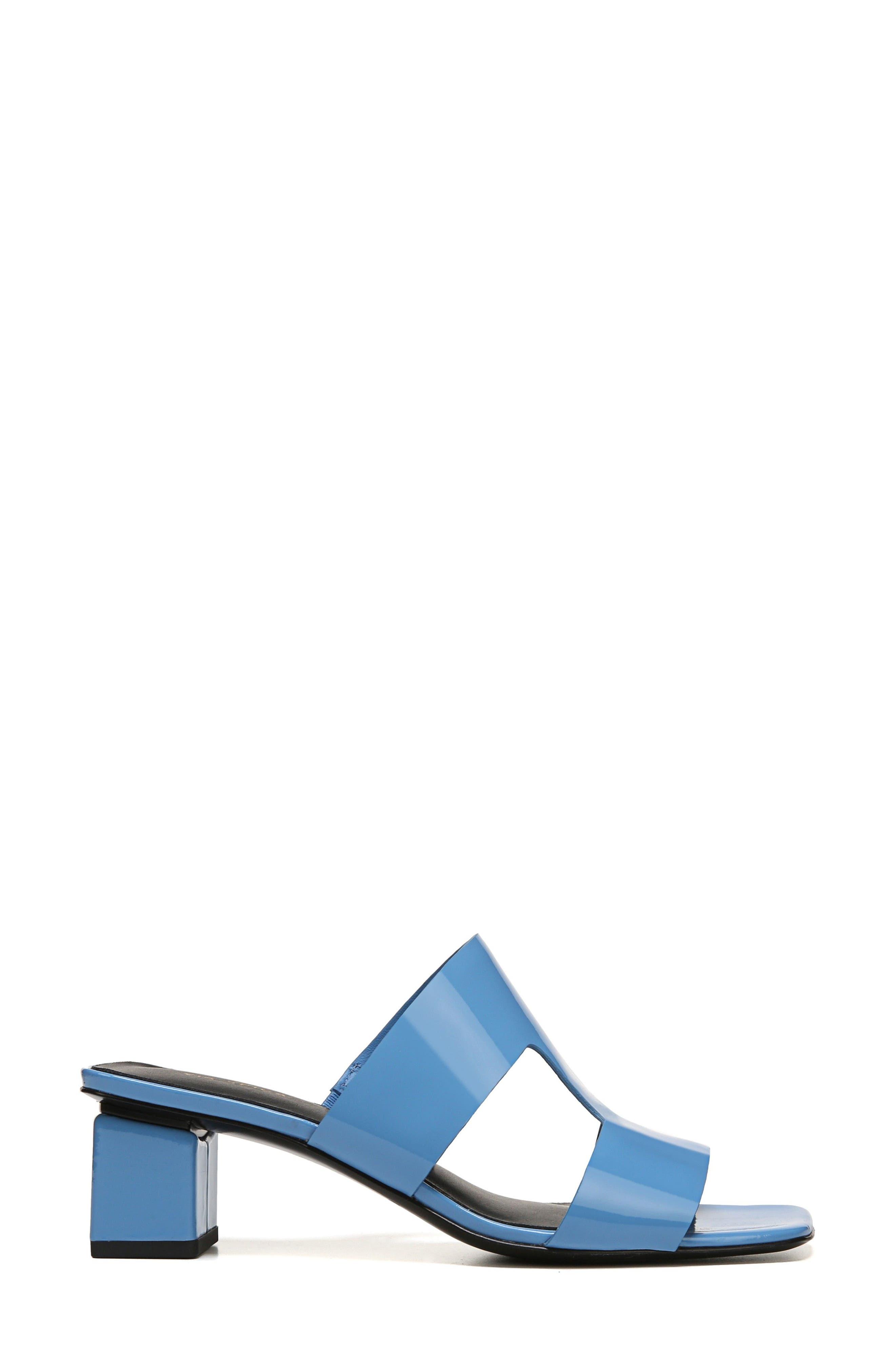 Florence Sandal,                             Alternate thumbnail 3, color,                             Sky Patent Leather