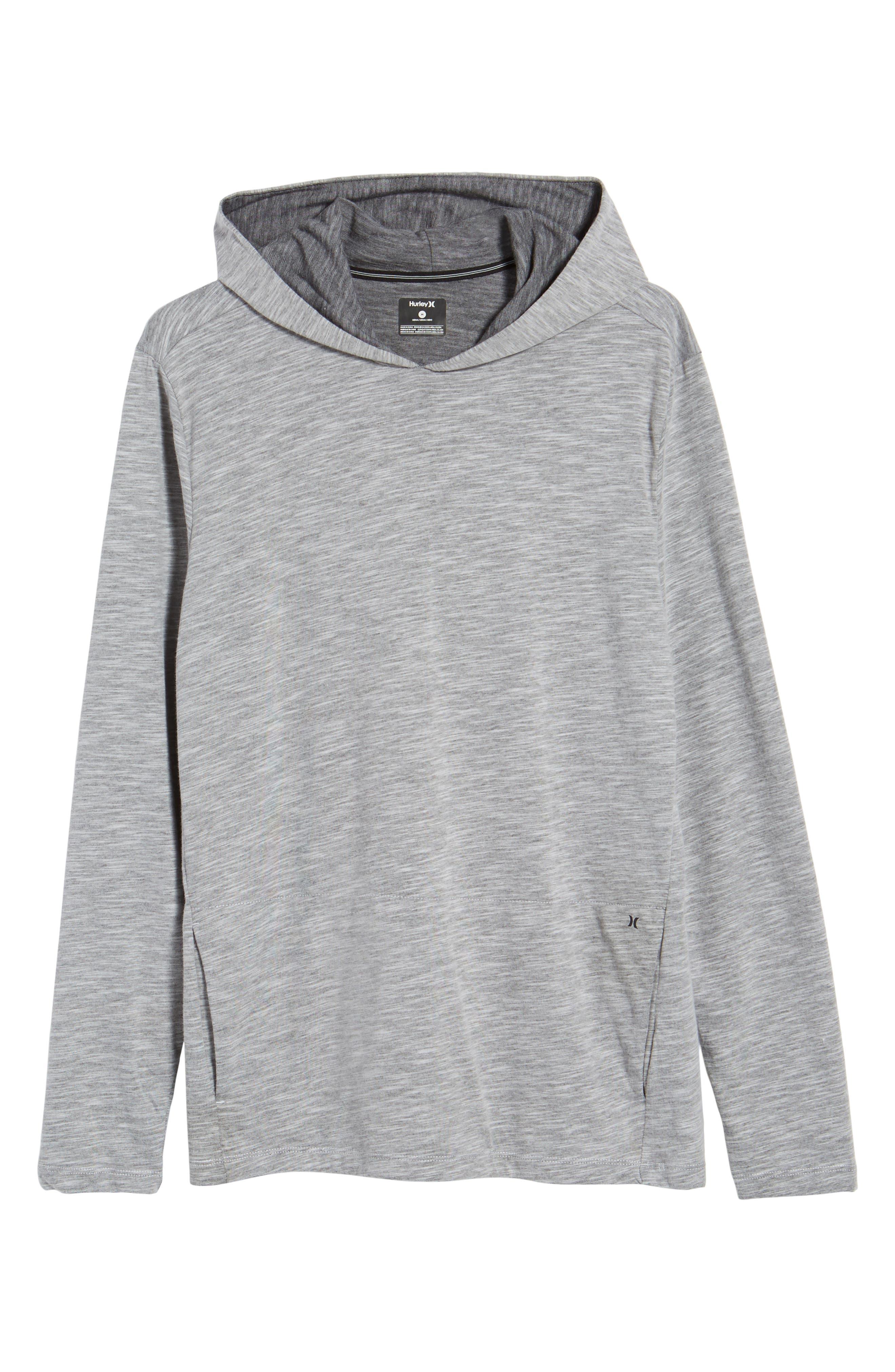 Lagos Dry Hoodie,                             Alternate thumbnail 6, color,                             Dark Grey