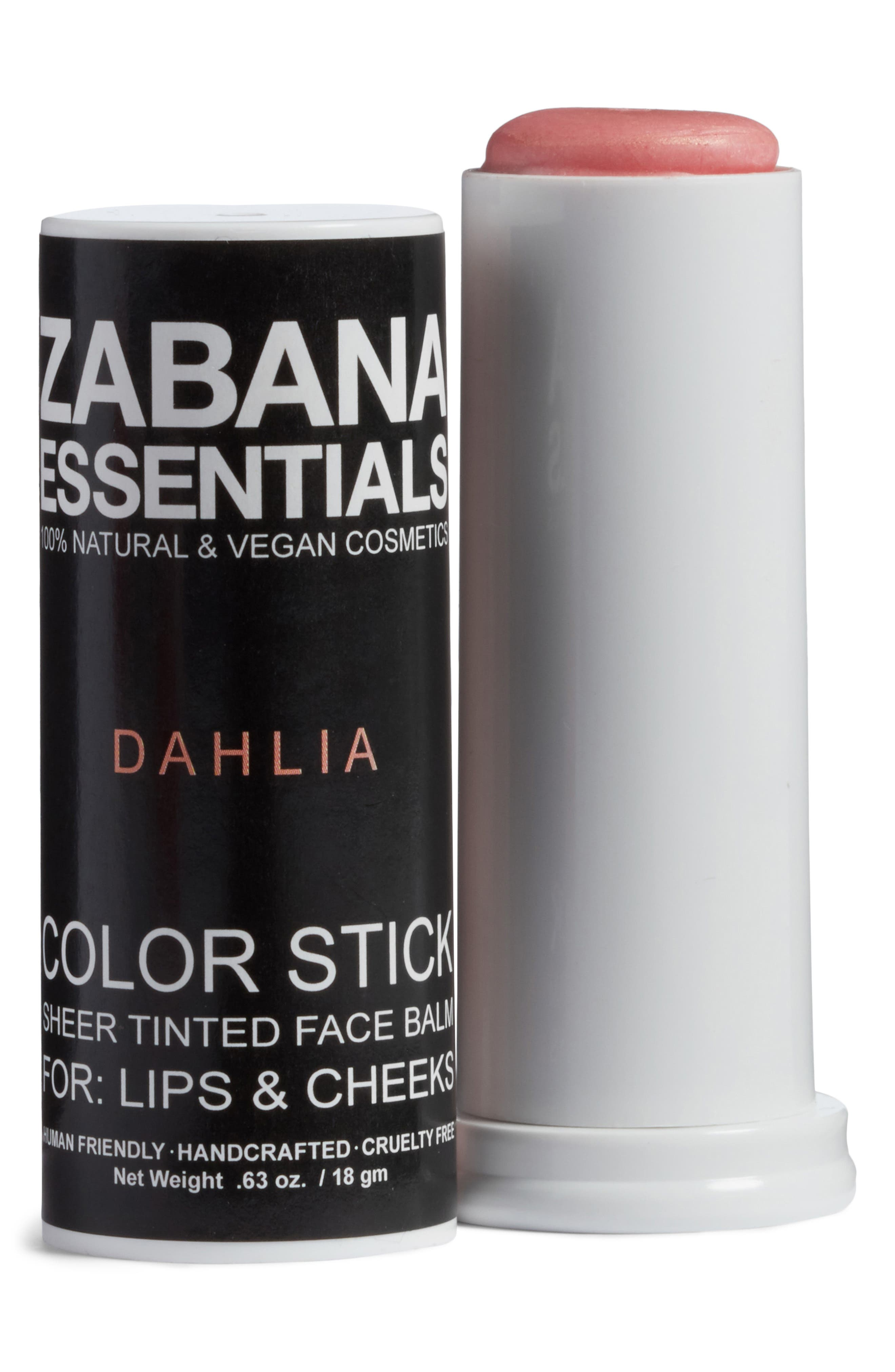 Alternate Image 1 Selected - Zabana Essentials Color Stick Sheer Tinted Lip & Cheek Balm