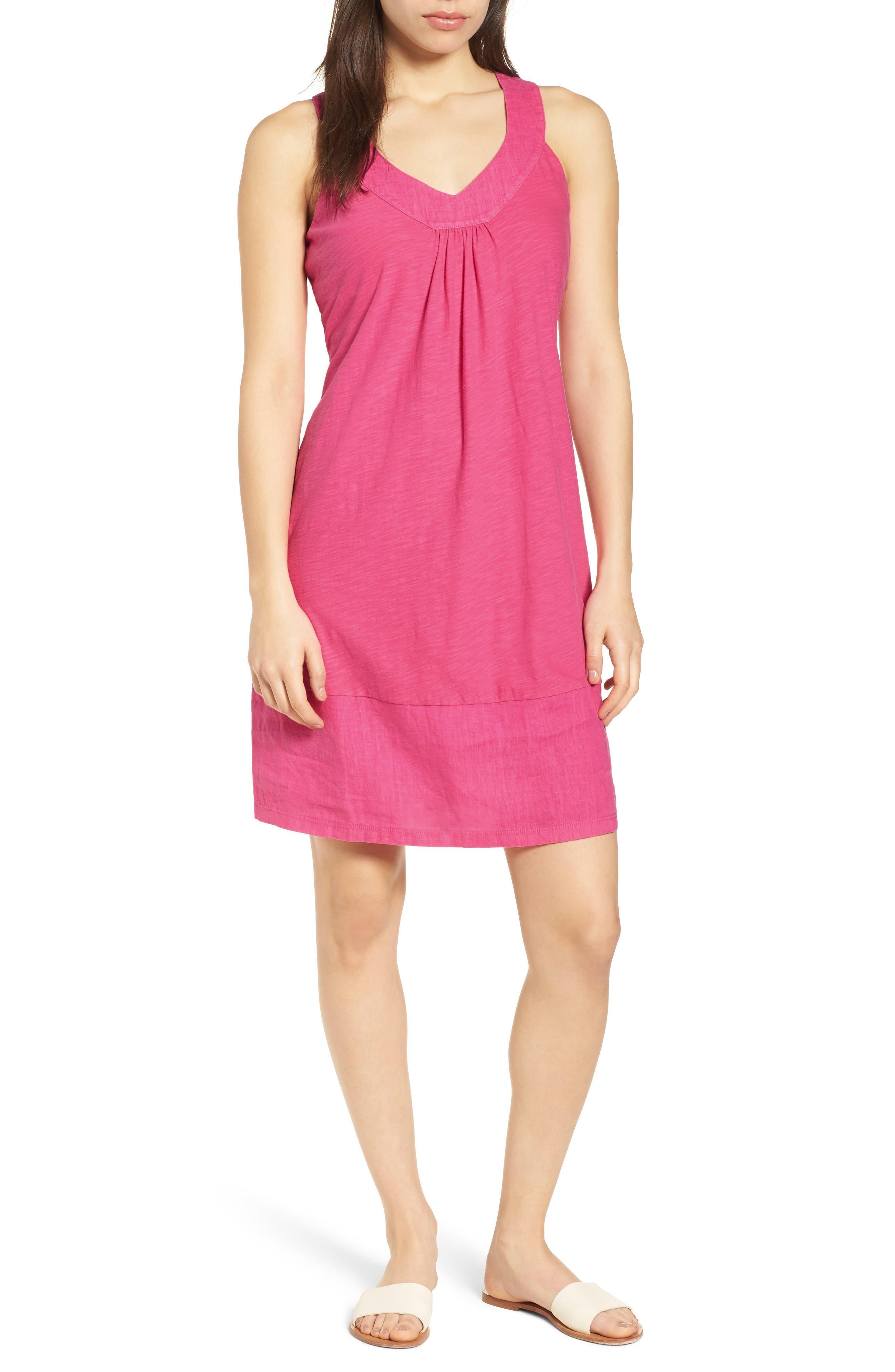 Arden Shift Dress,                             Main thumbnail 1, color,                             Bright Blush