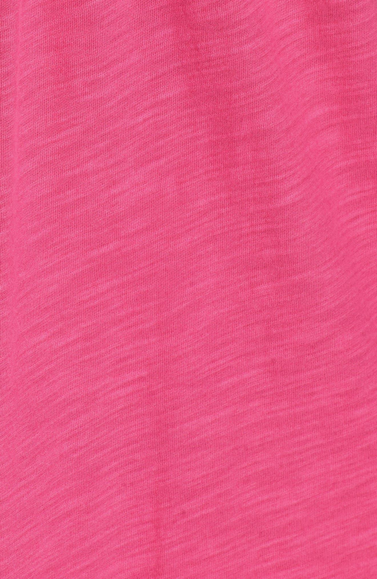 Arden Shift Dress,                             Alternate thumbnail 5, color,                             Bright Blush