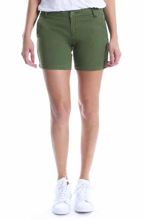 KUT from the Kloth Stretch Cotton Roll Up Shorts