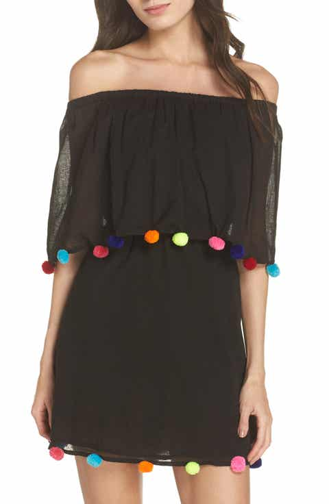 PITUSA PomPom Festival Cover-Up Dress