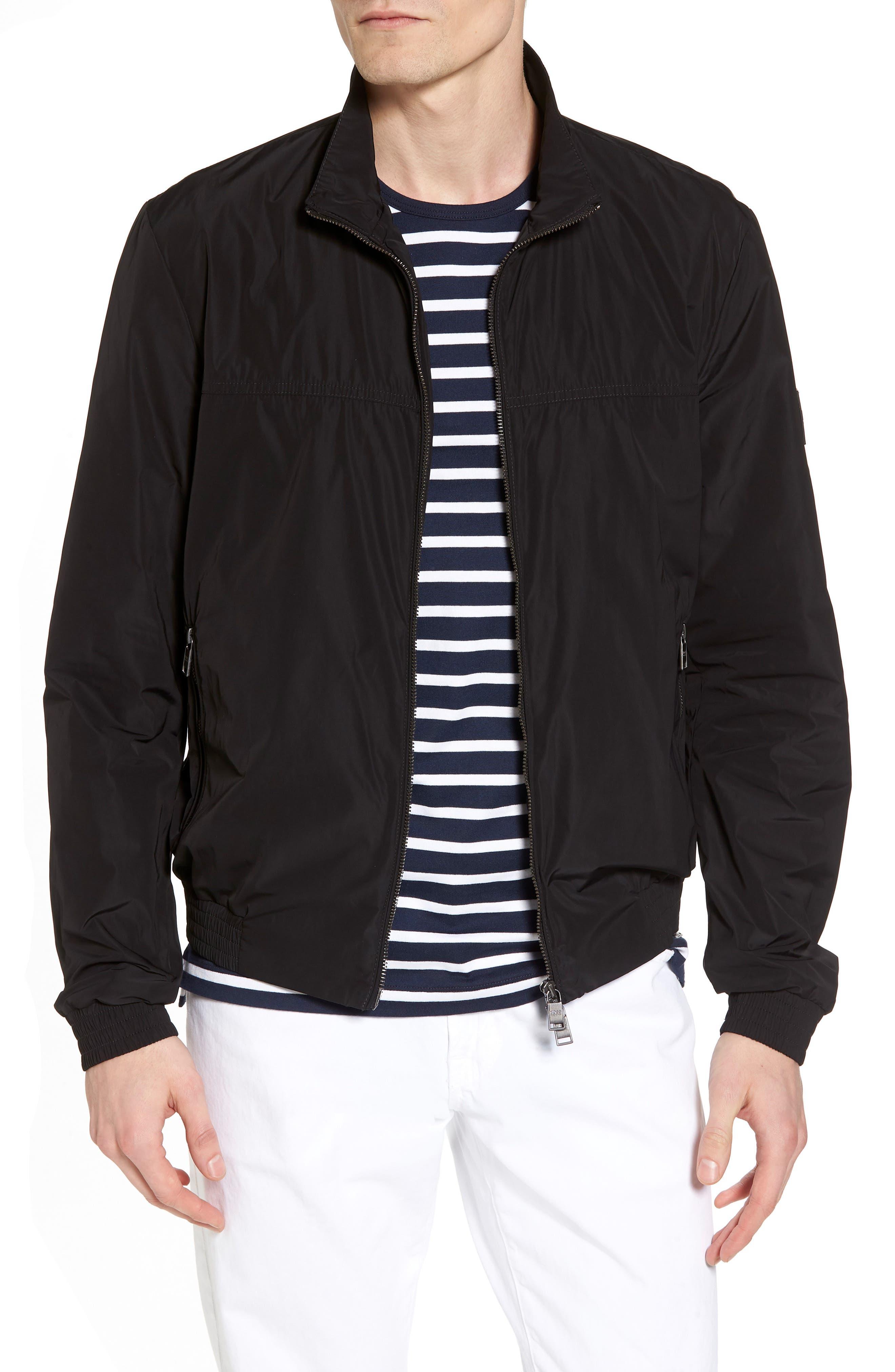 Caius Jacket,                             Main thumbnail 1, color,                             Black
