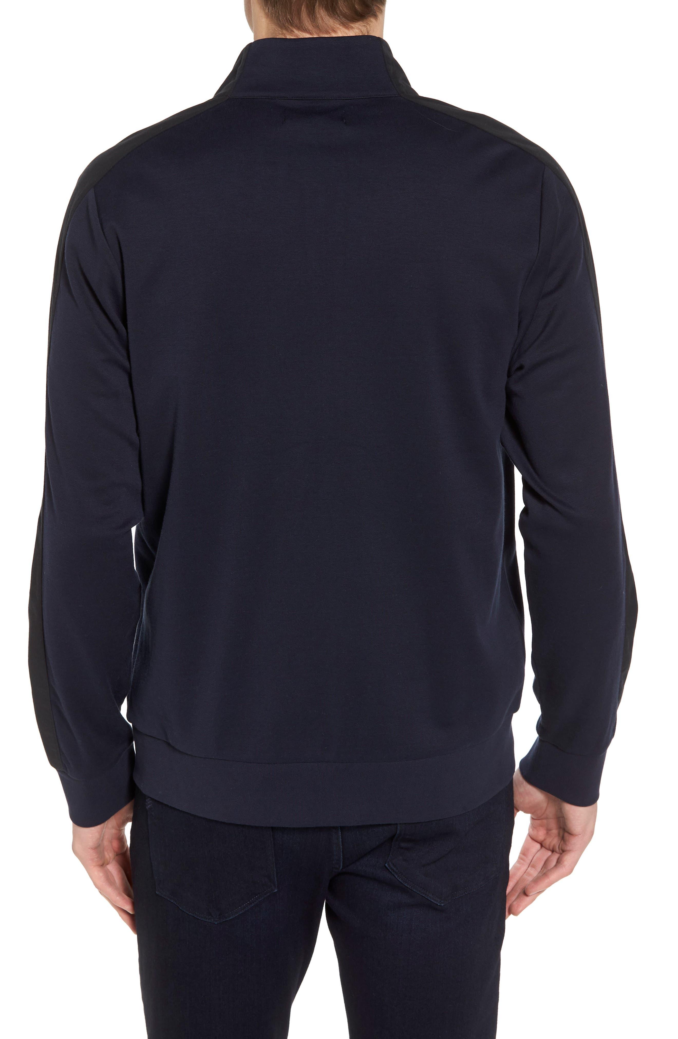 Fleece Jacket,                             Alternate thumbnail 2, color,                             Navy Night Black