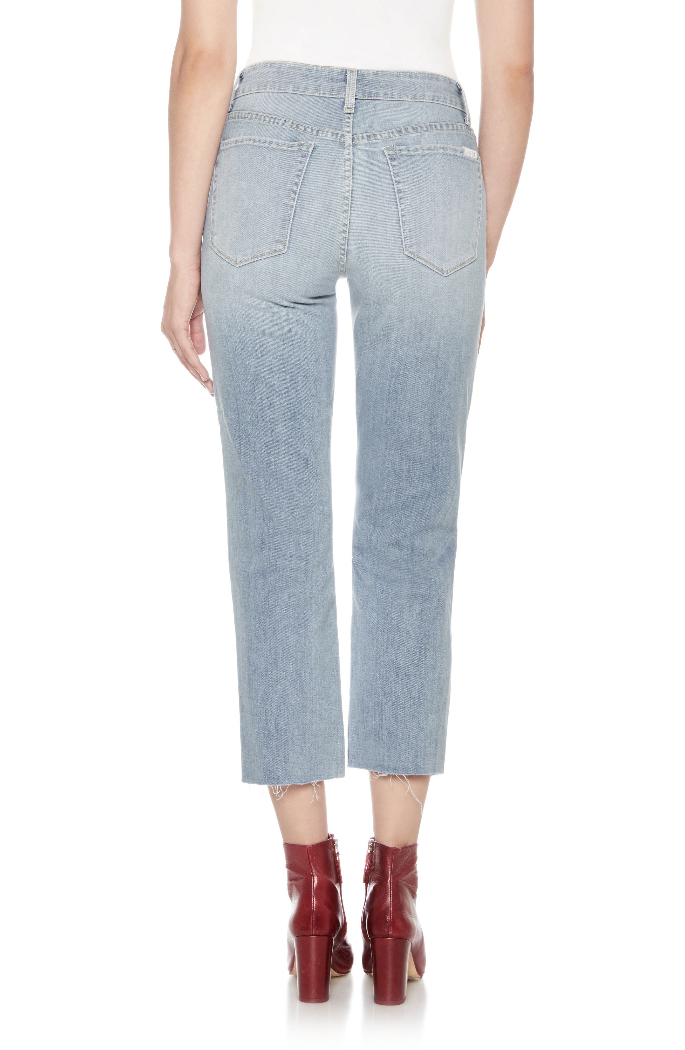 Jane High Waist Crop Boyfriend Jeans,                             Alternate thumbnail 2, color,                             Dezirae