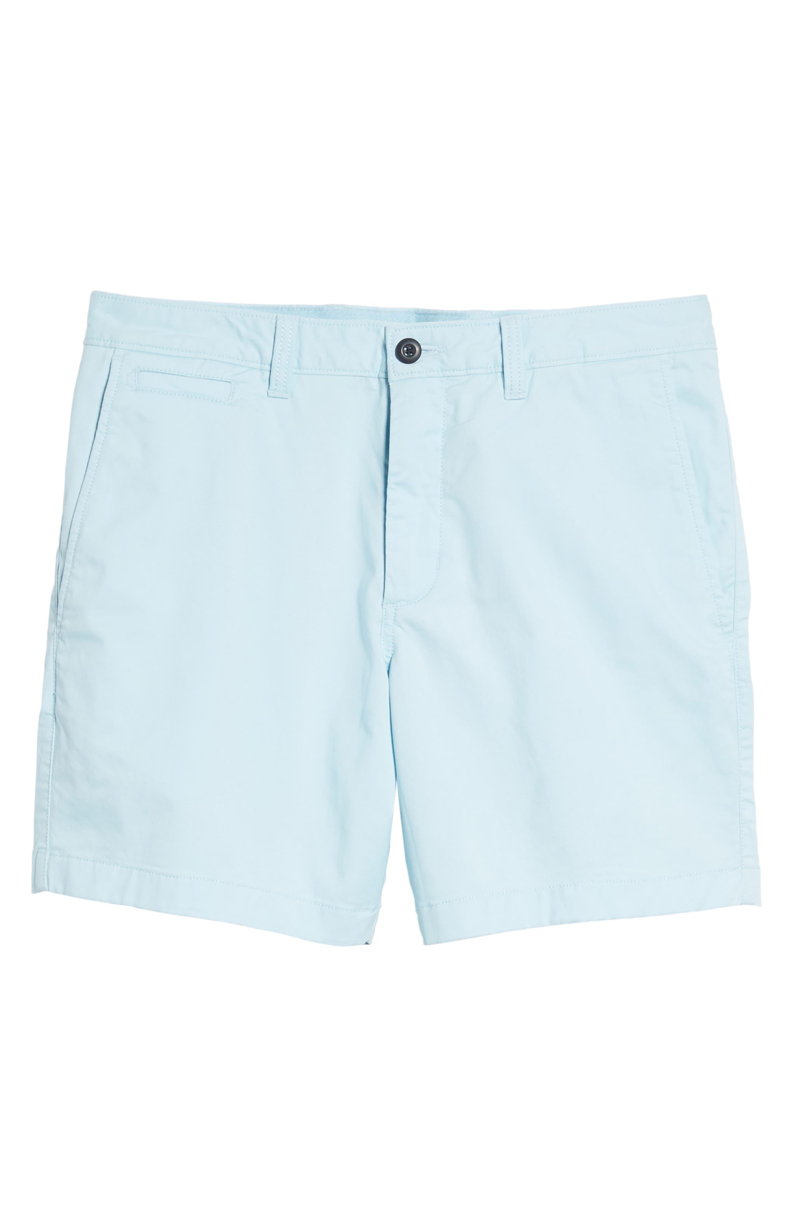 Ballard Slim Fit Stretch Chino 7-Inch Shorts,                             Alternate thumbnail 6, color,                             Blue Orydalis