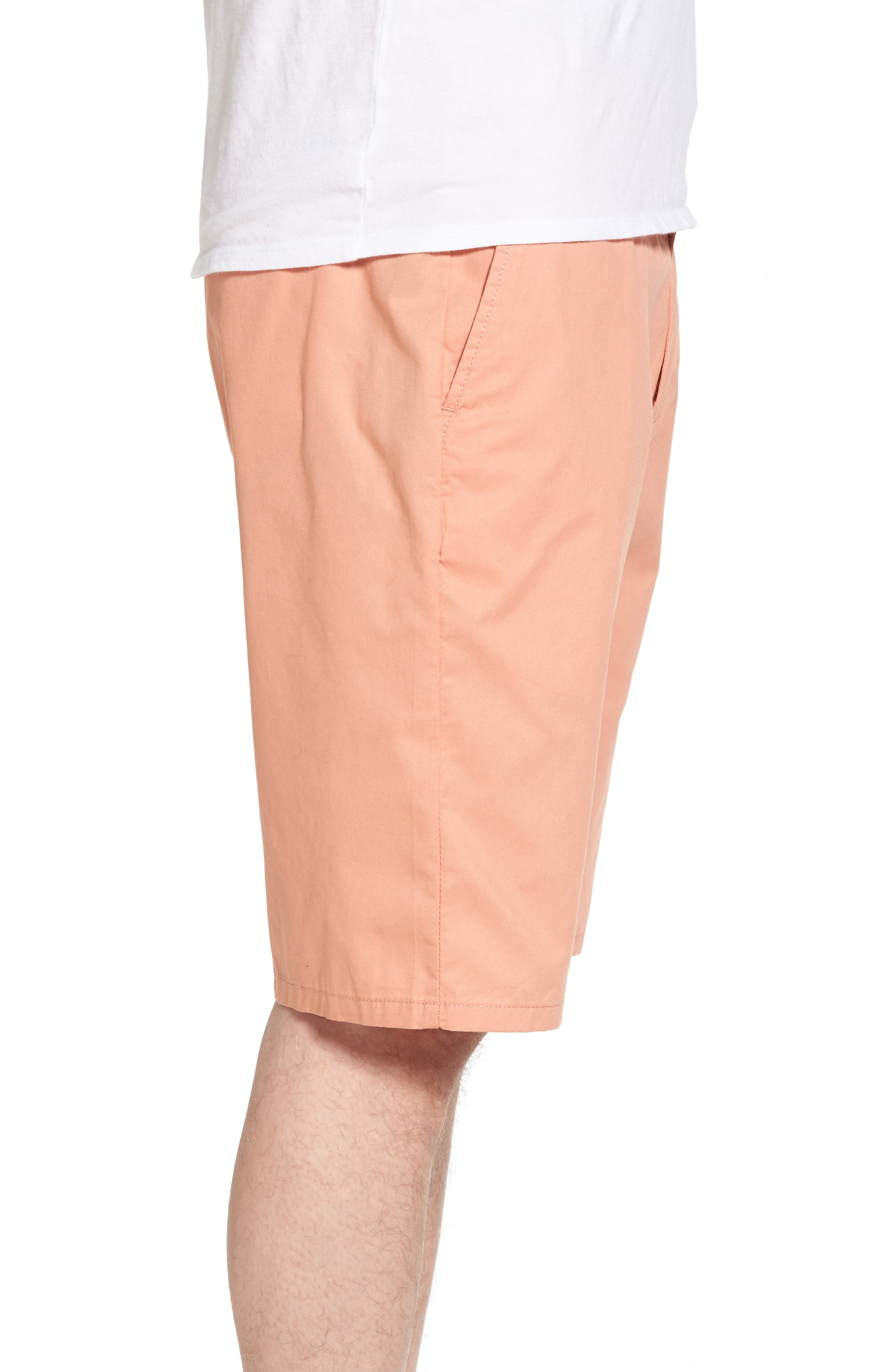 Straggler Light Shorts,                             Alternate thumbnail 3, color,                             Dusty Rose