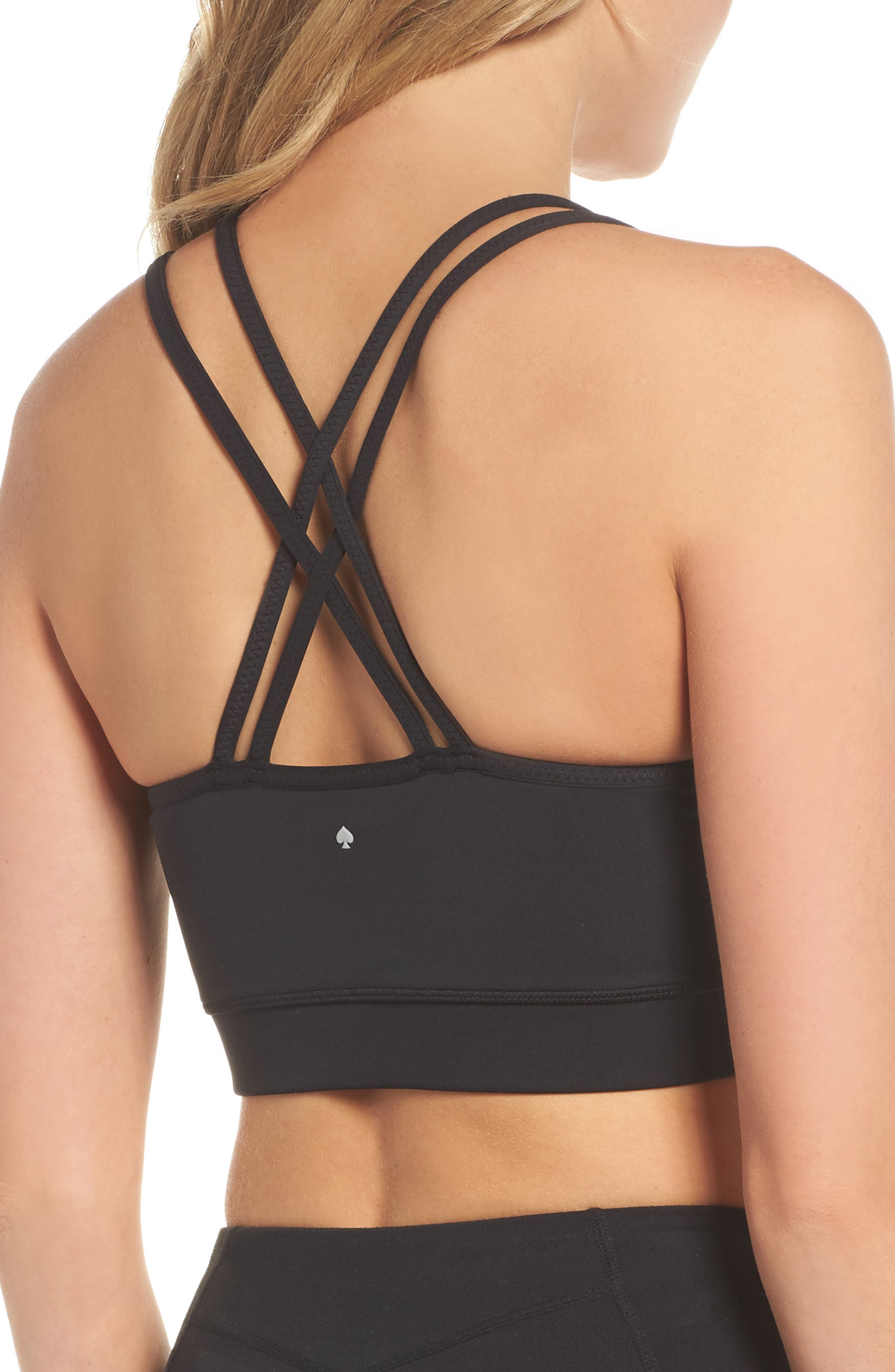 Alternate Image 2  - kate spade new york scalloped sports bra