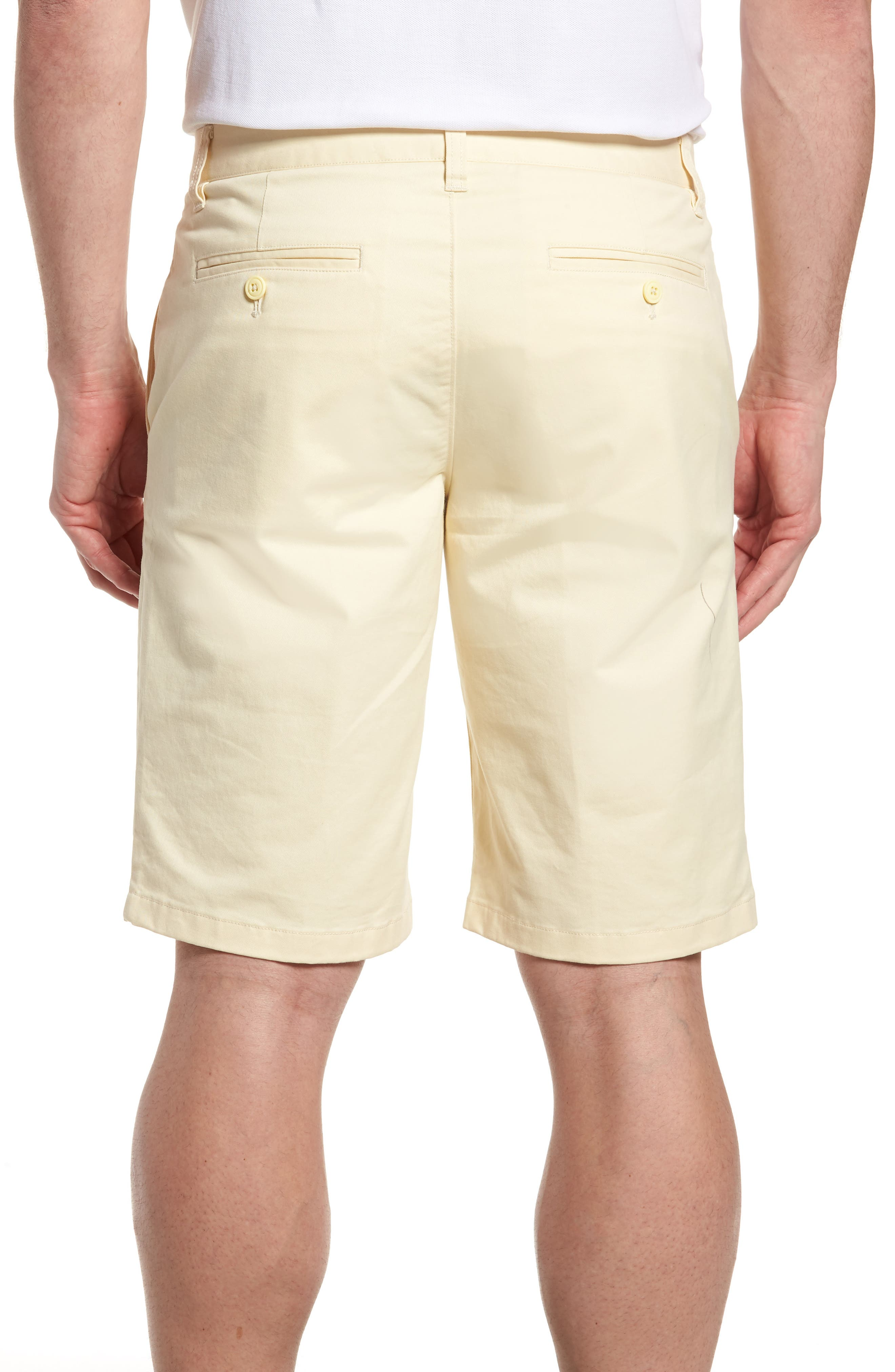 Stretch Washed Chino 11-Inch Shorts,                             Alternate thumbnail 2, color,                             Sun In