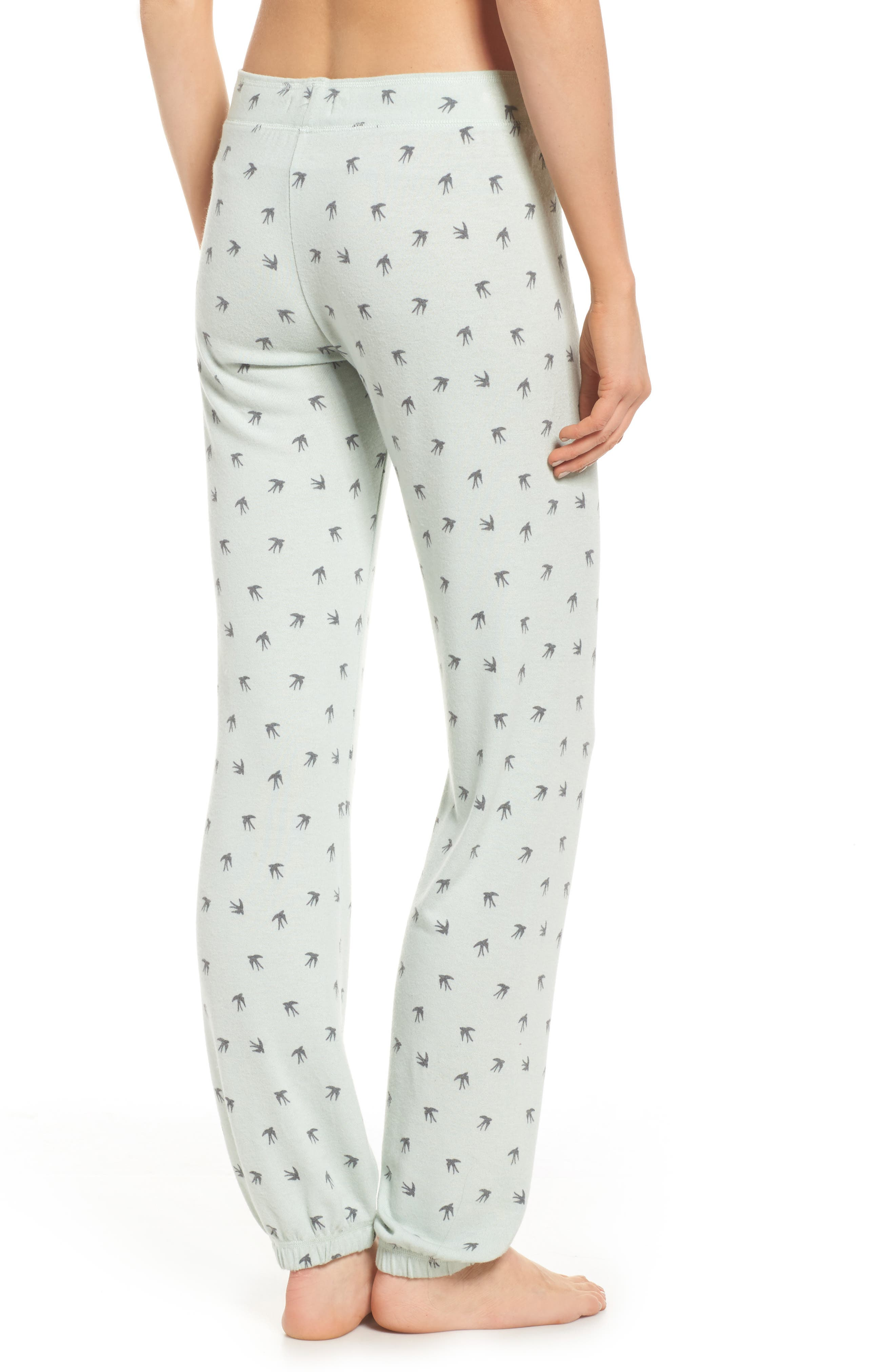 Peachy Pajama Pants,                             Alternate thumbnail 2, color,                             Seafoam