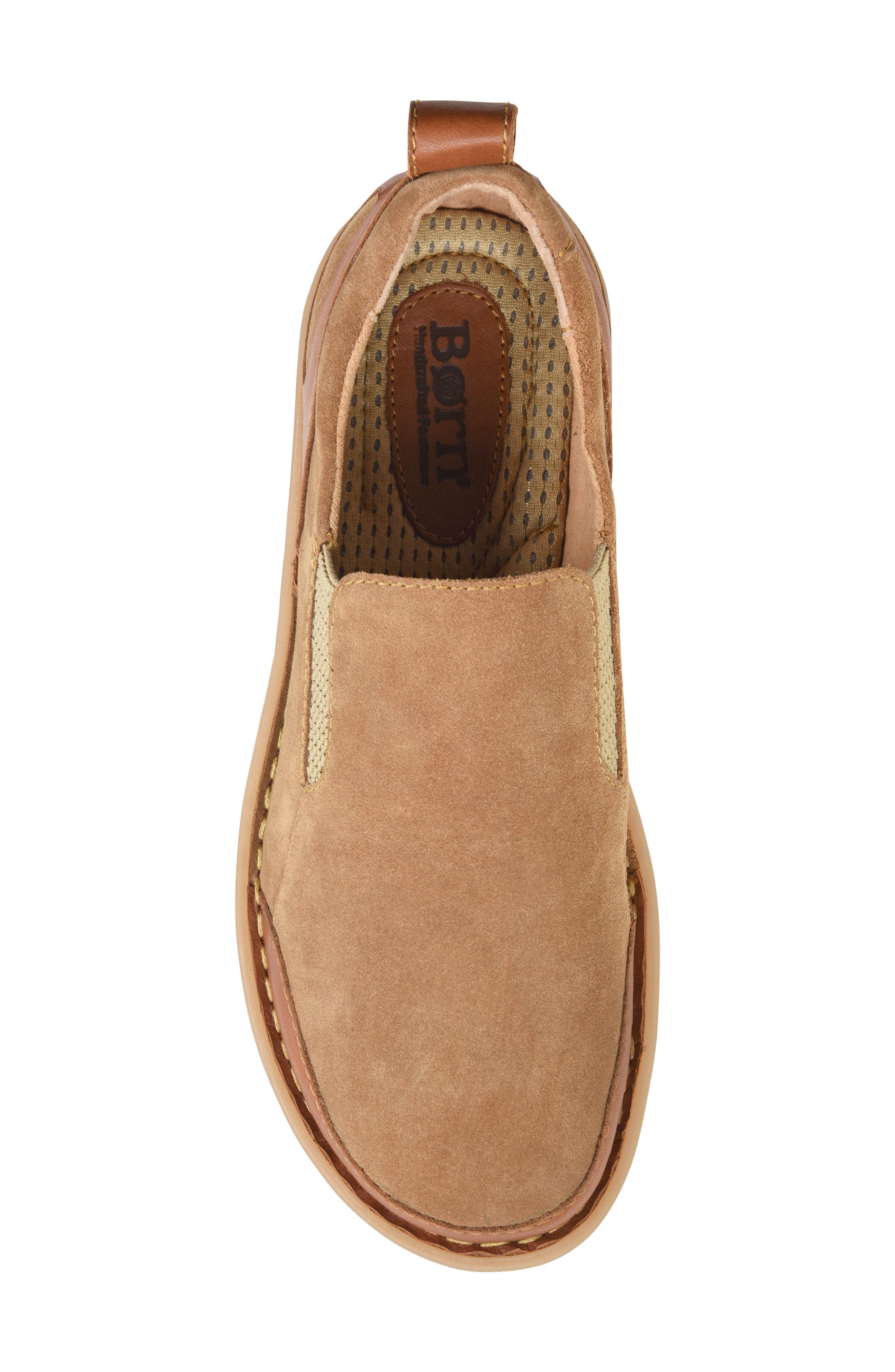 Pepper Slip-On,                             Alternate thumbnail 5, color,                             Light Brown Leather