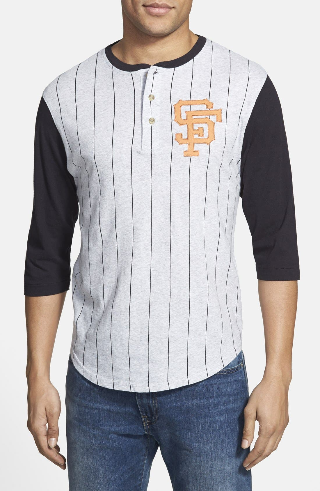 Alternate Image 1 Selected - Red Jacket 'San Francisco Giants - Double Play' Jersey Henley