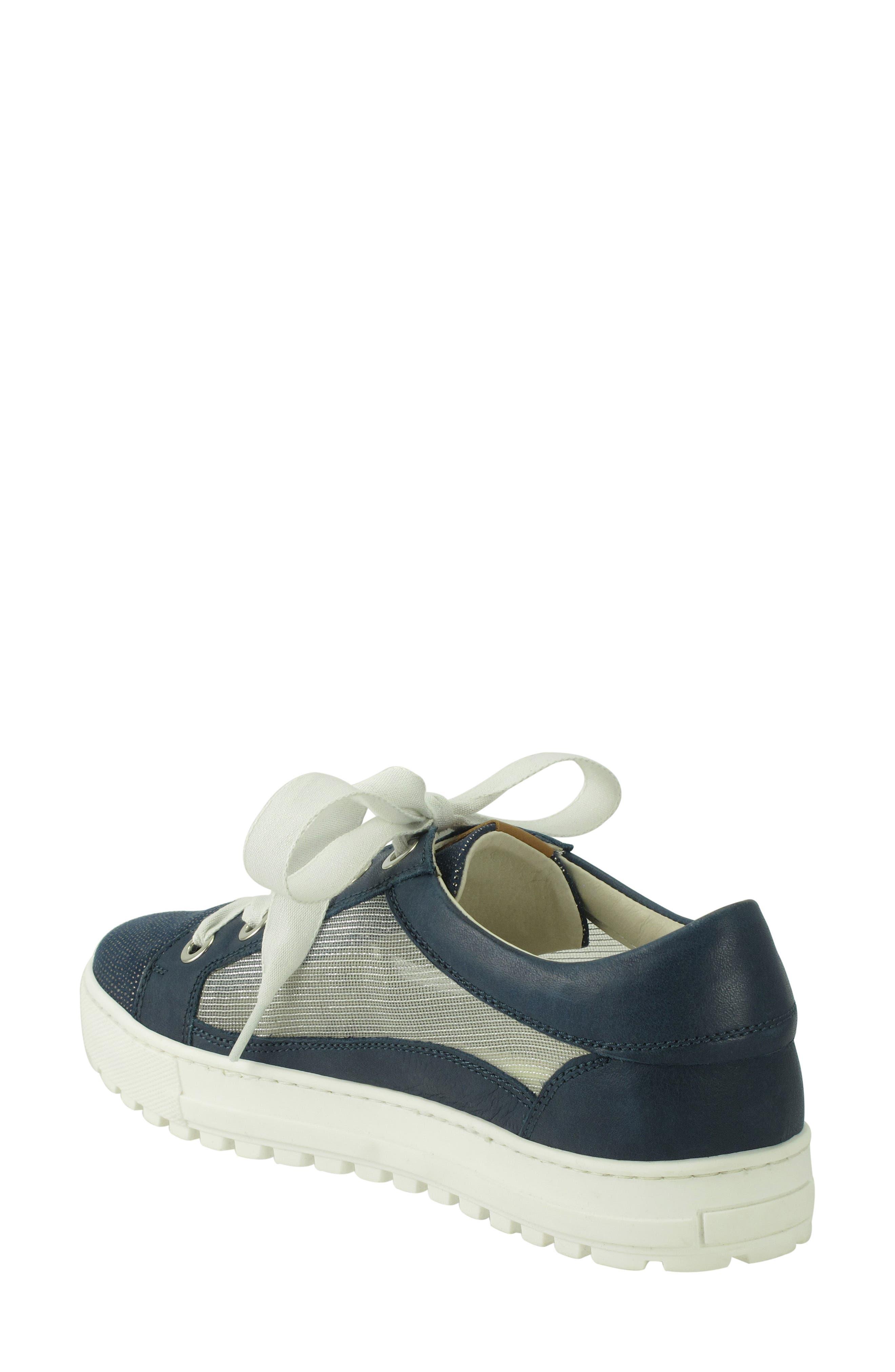 Layton Sneaker,                             Alternate thumbnail 2, color,                             Jeans Leather