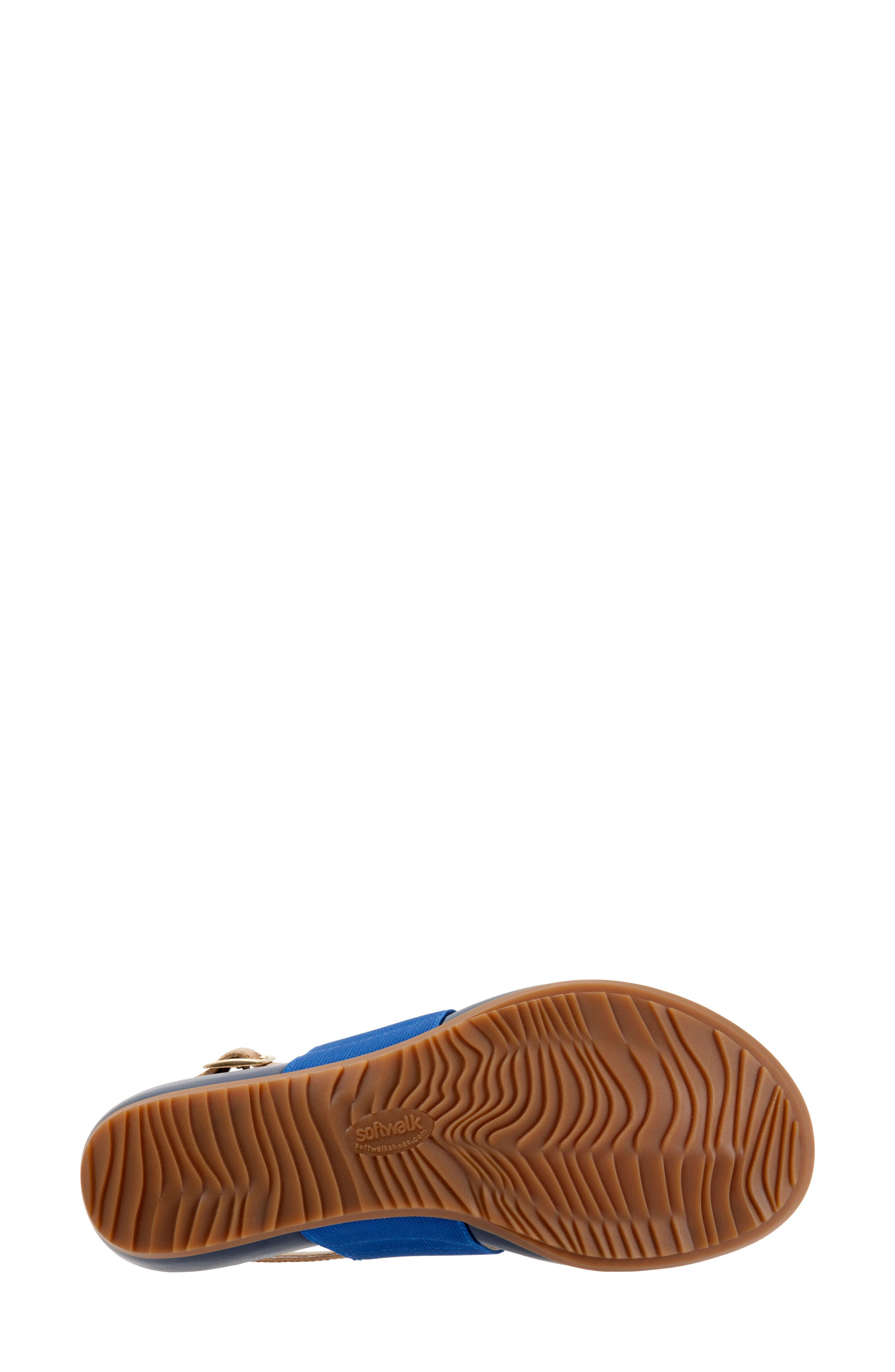 Daytona Sandal,                             Alternate thumbnail 6, color,                             Navy/ Tan Leather