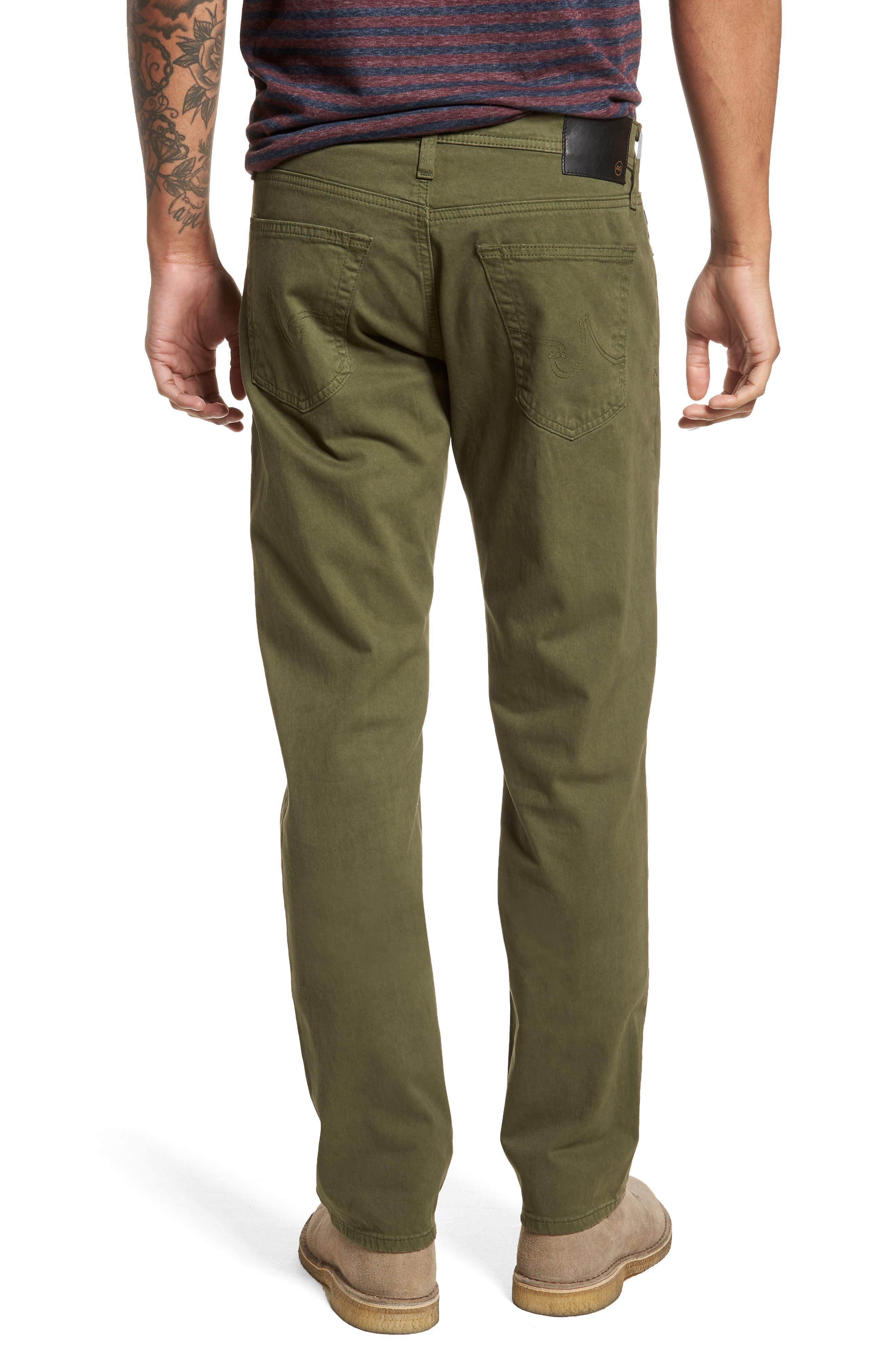 Alternate Image 2  - AG Graduate SUD Slim Straight Leg Pants