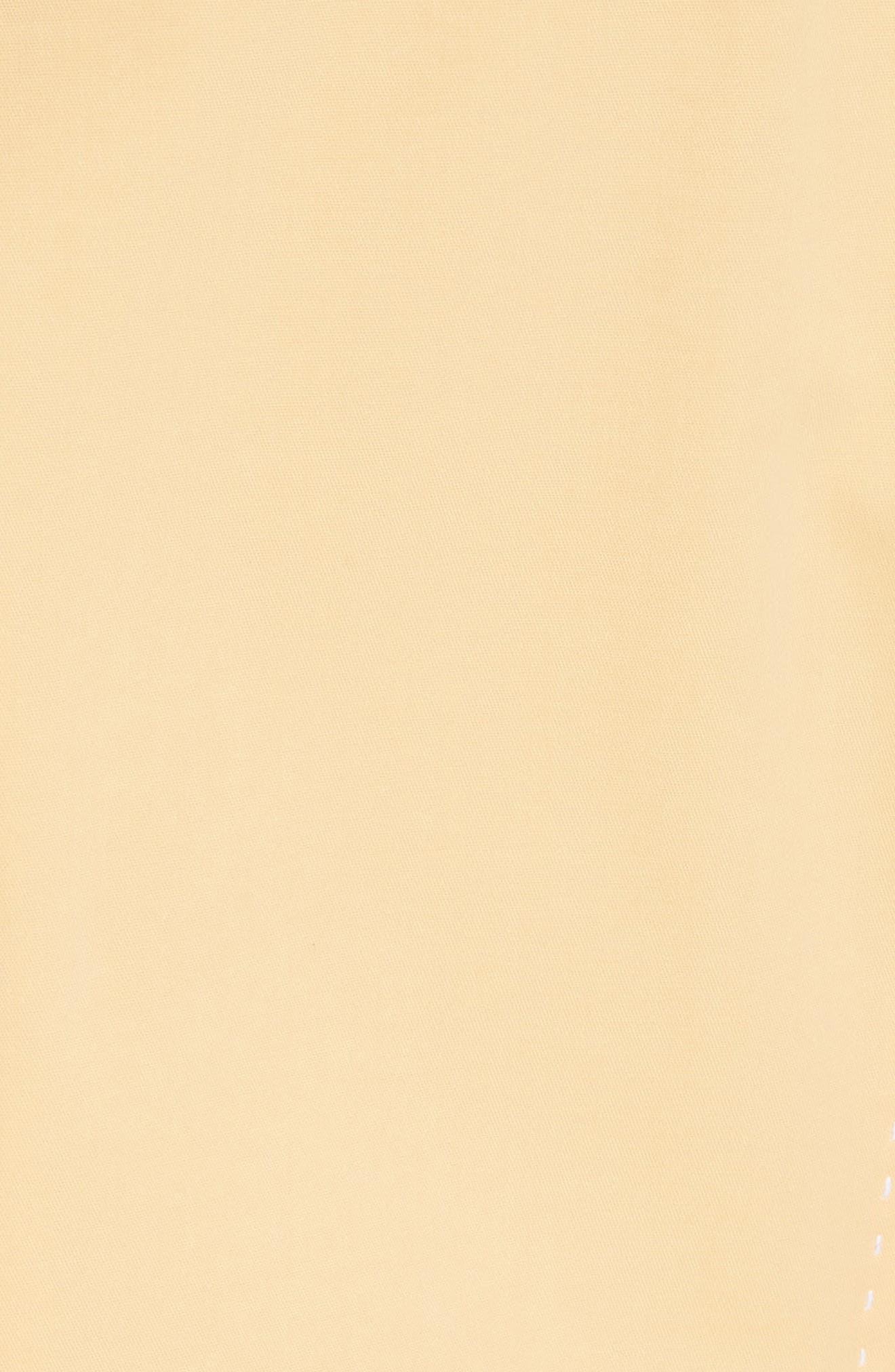 Paxton Sleeveless Sheath Dress,                             Alternate thumbnail 6, color,                             Sienna Yellow