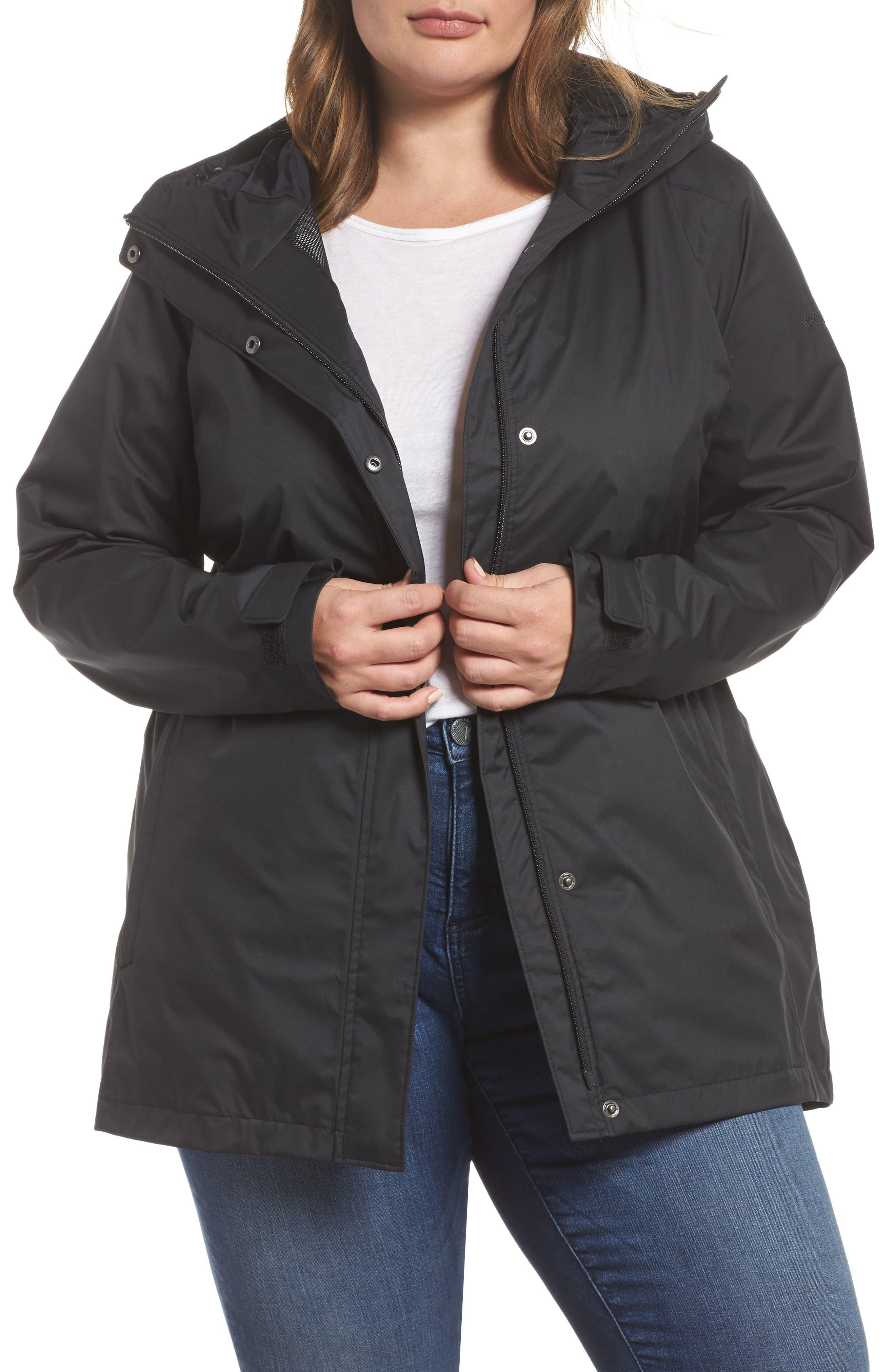 Columbia Splash a Little II Waterproof Rain Jacket (Plus Size)