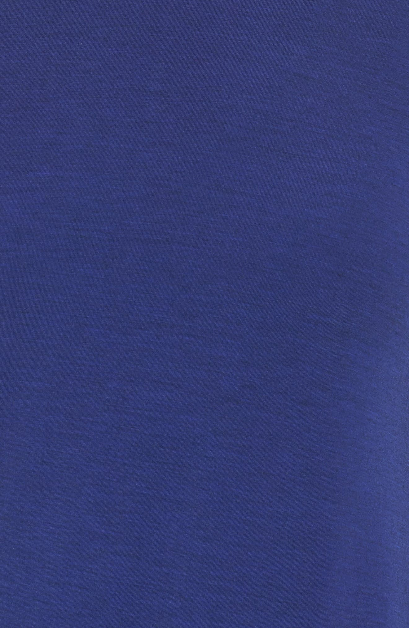 Long Sleeve Layering Tee,                             Alternate thumbnail 6, color,                             Tempest Heather