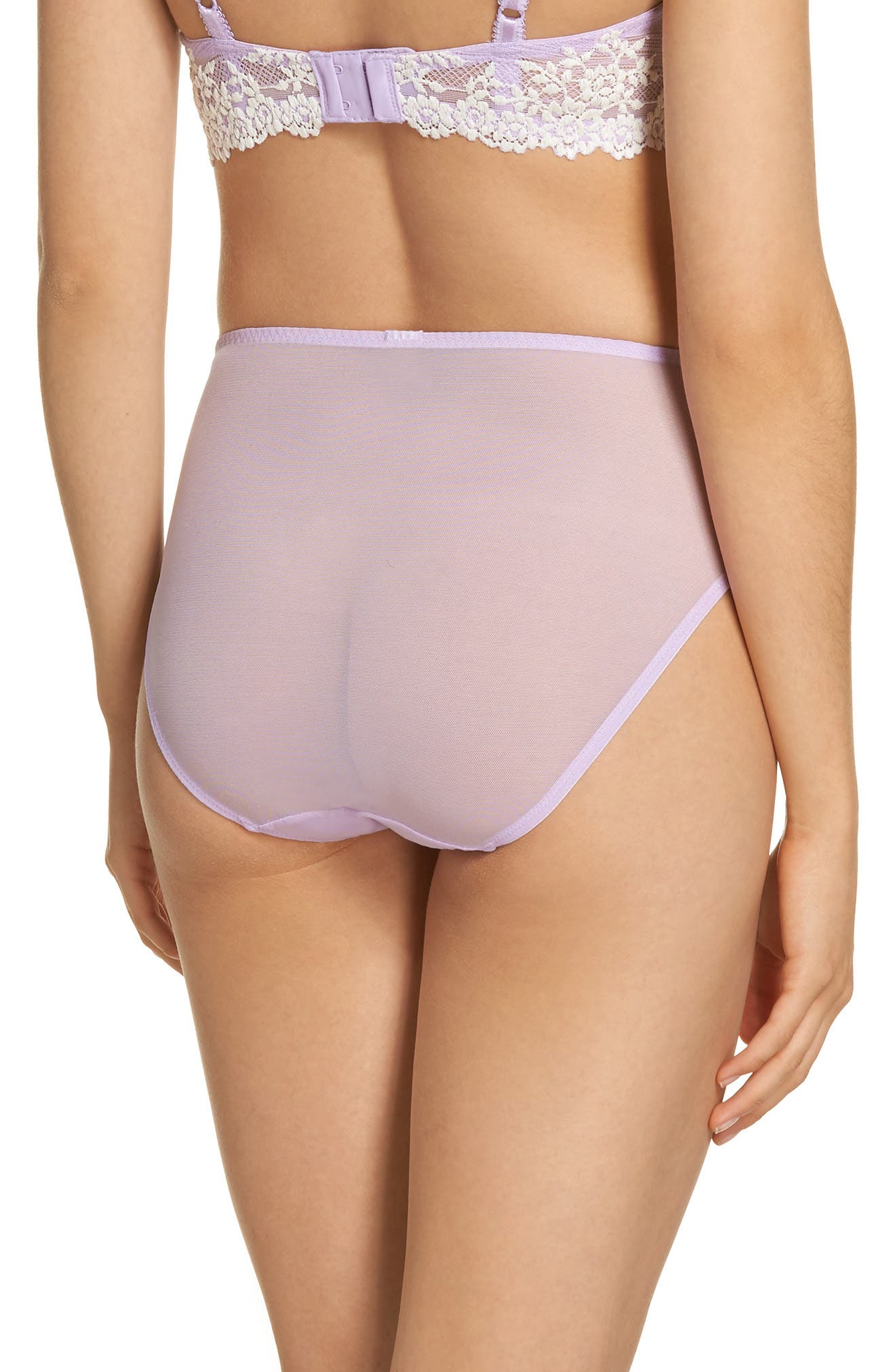 High Cut Briefs,                             Alternate thumbnail 2, color,                             Lavender