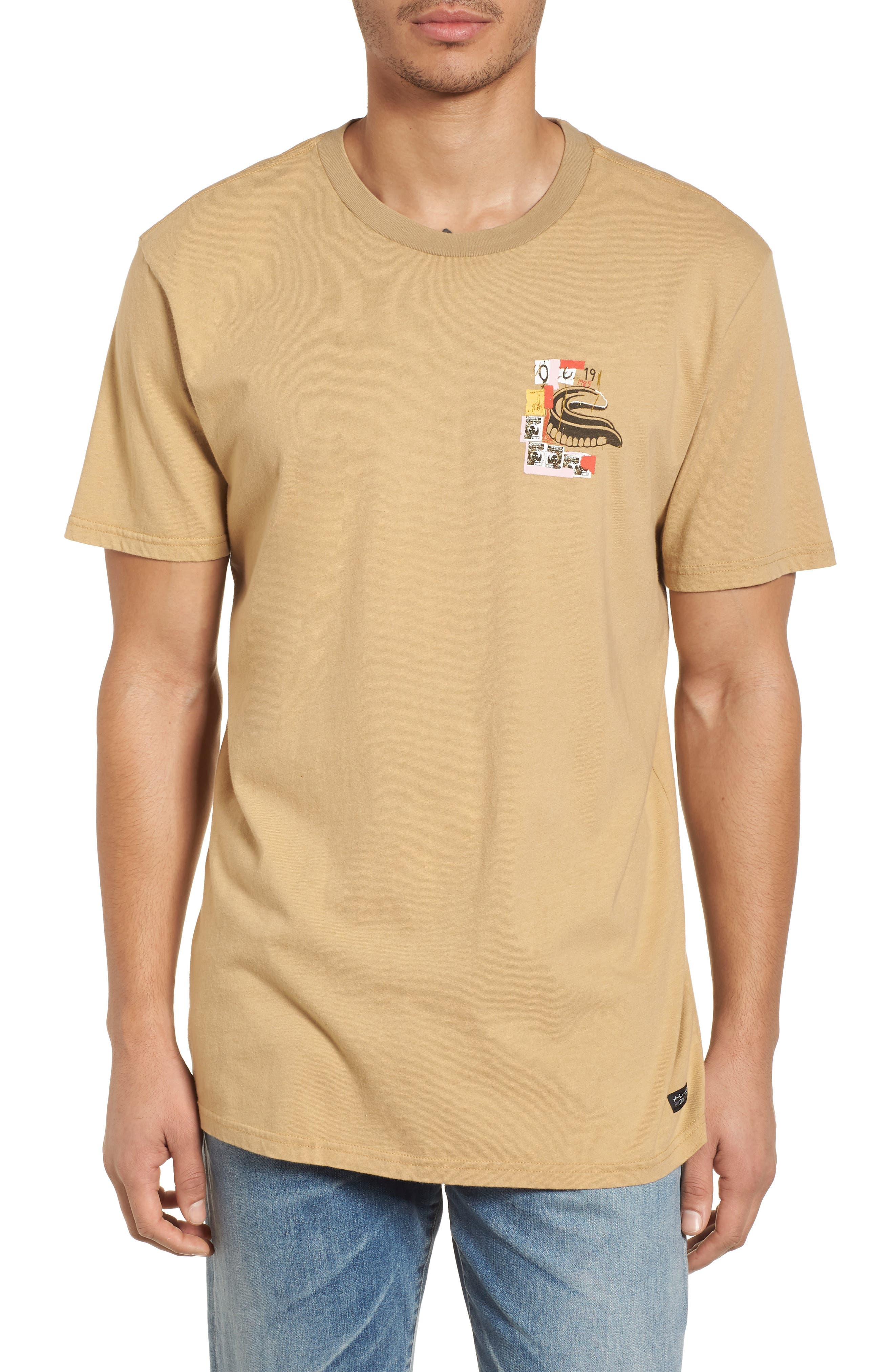 x Warhol Eighty Graphic T-Shirt,                         Main,                         color, Straw