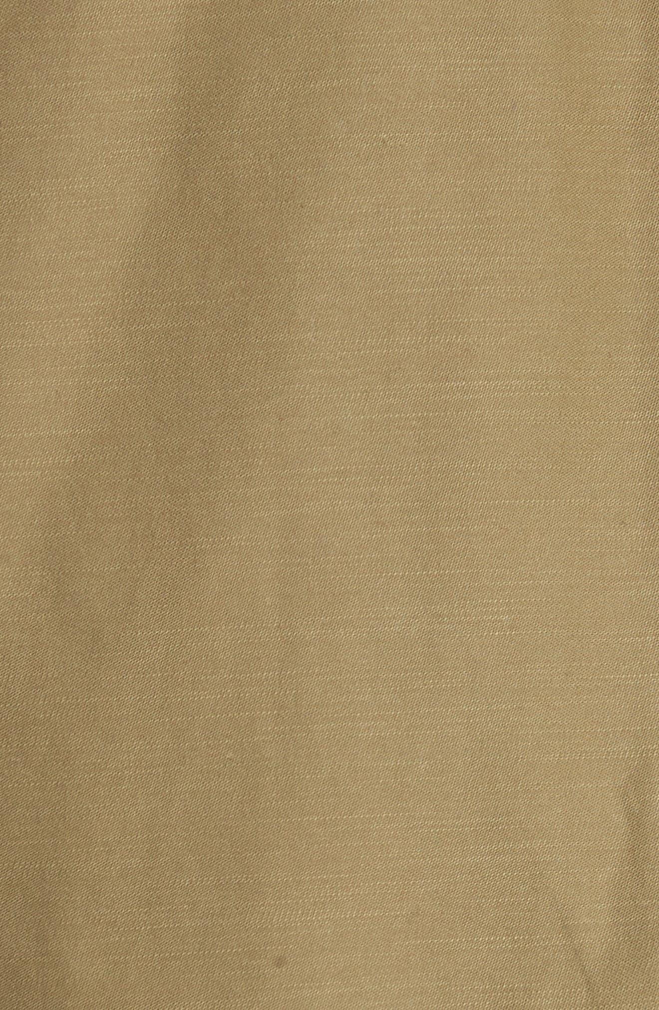 Modular Field Convertible Cotton Jacket,                             Alternate thumbnail 6, color,                             Dark Olive