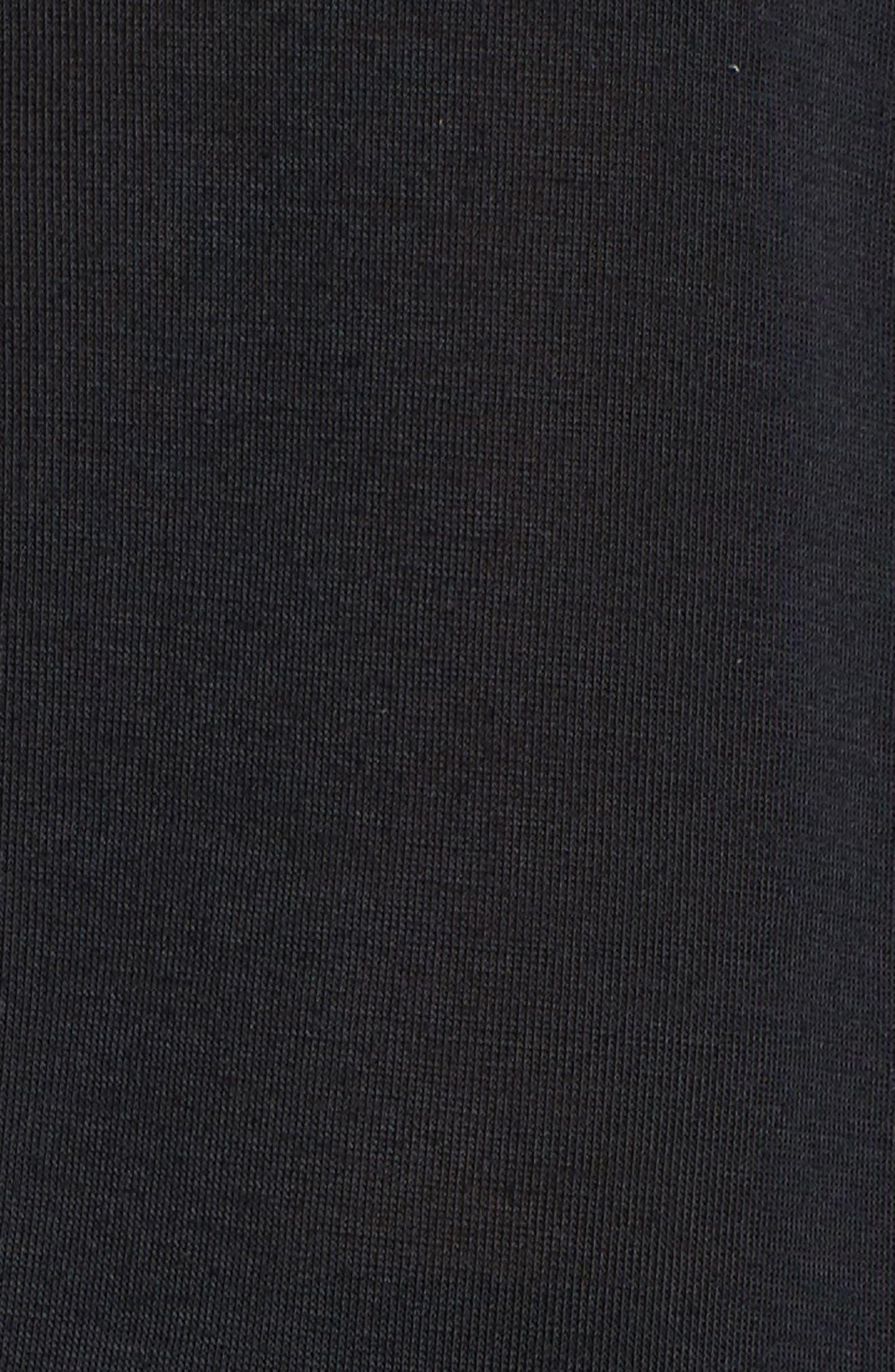 Threadborne Fashion Tank,                             Alternate thumbnail 6, color,                             Black