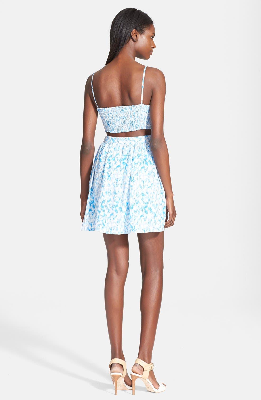 Alternate Image 2  - Joie 'Hudette' Print Silk Dress