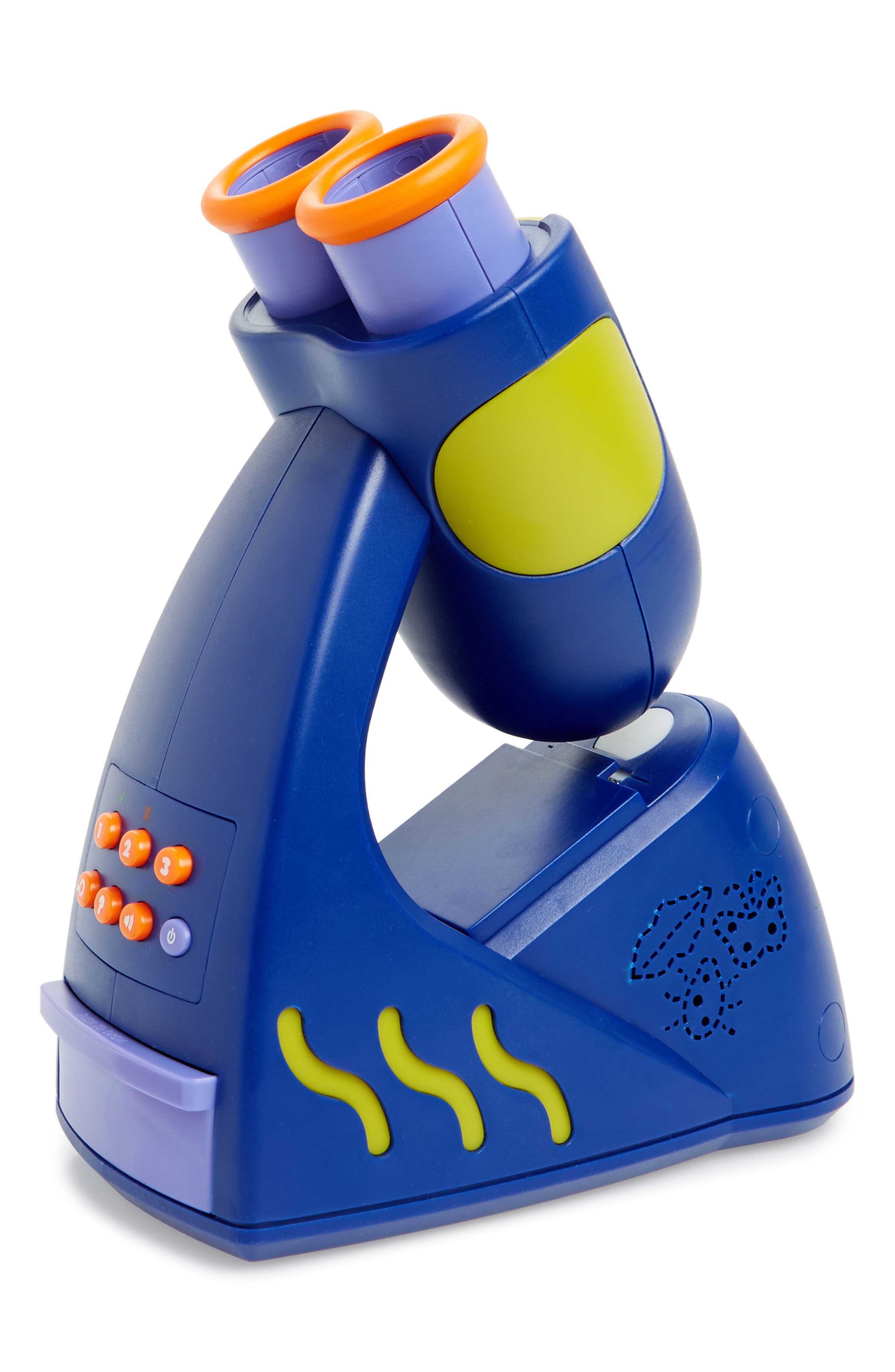 GeoSafari Jr. 21-Piece Talking Microscope Set,                         Main,                         color, Blue