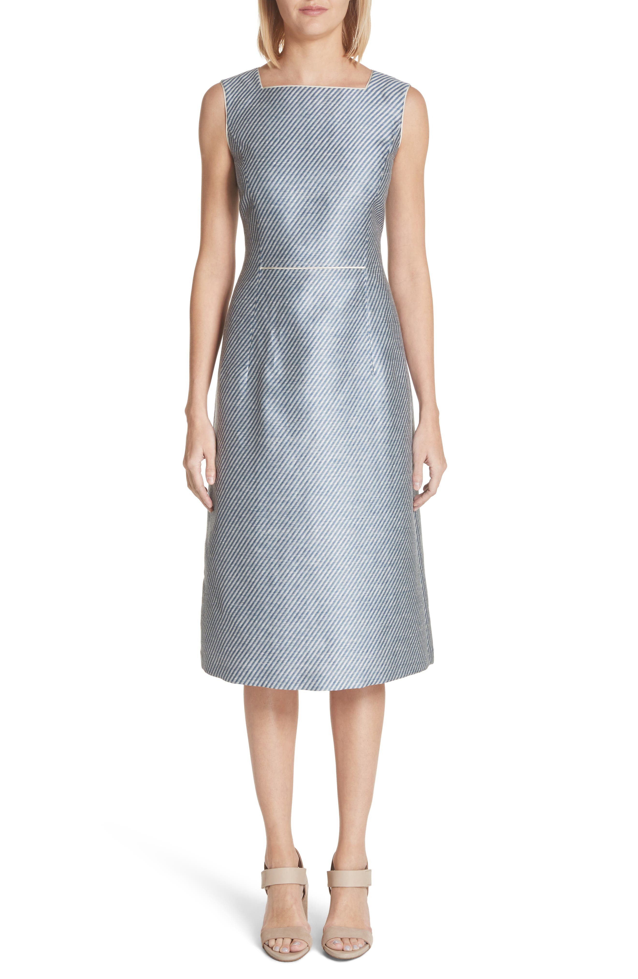 Jojo Sheath Dress,                         Main,                         color, Glaze Blue Multi