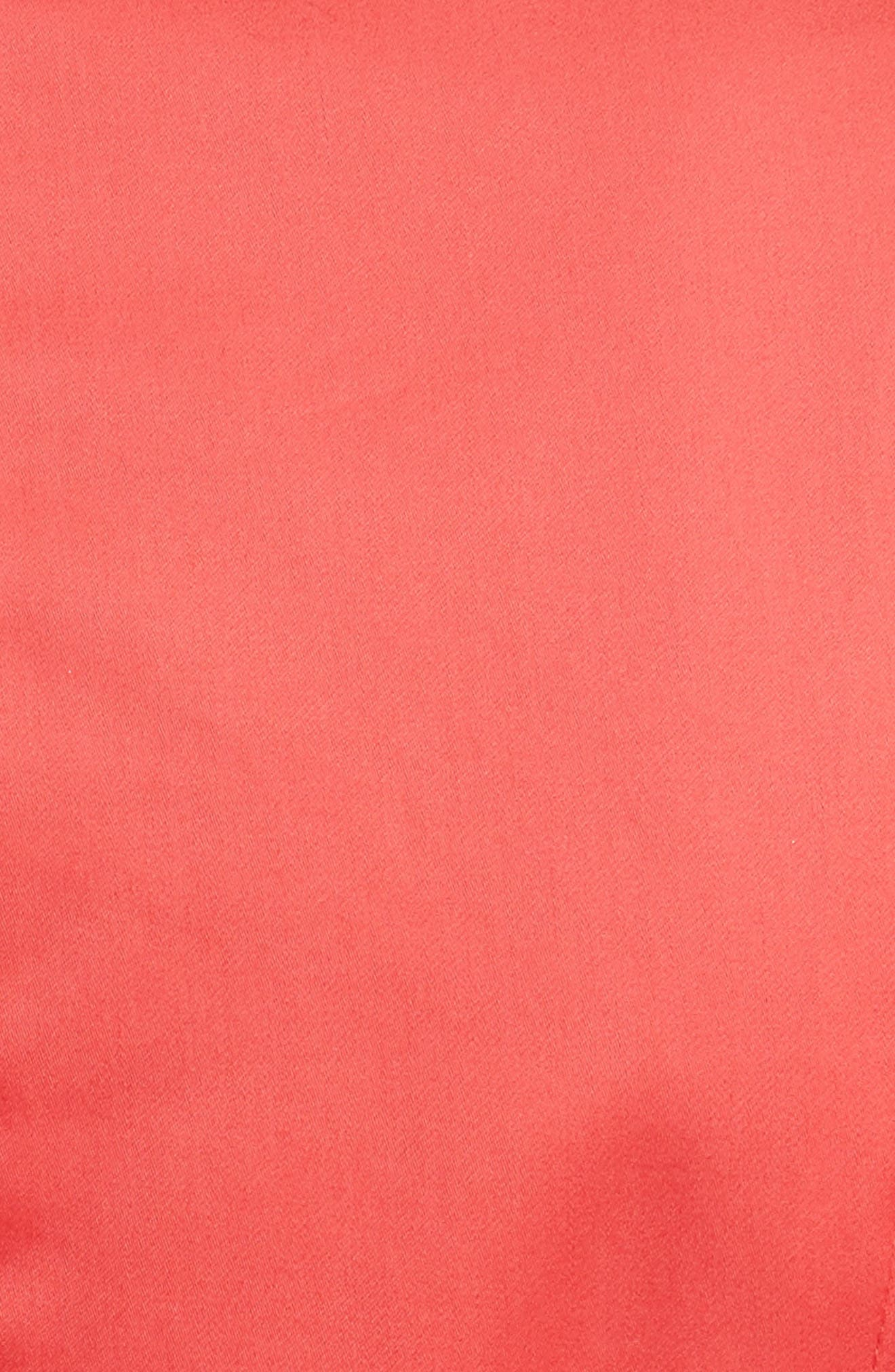 Prose & Poetry Claudia Puff Sleeve Top,                             Alternate thumbnail 5, color,                             Watermelon