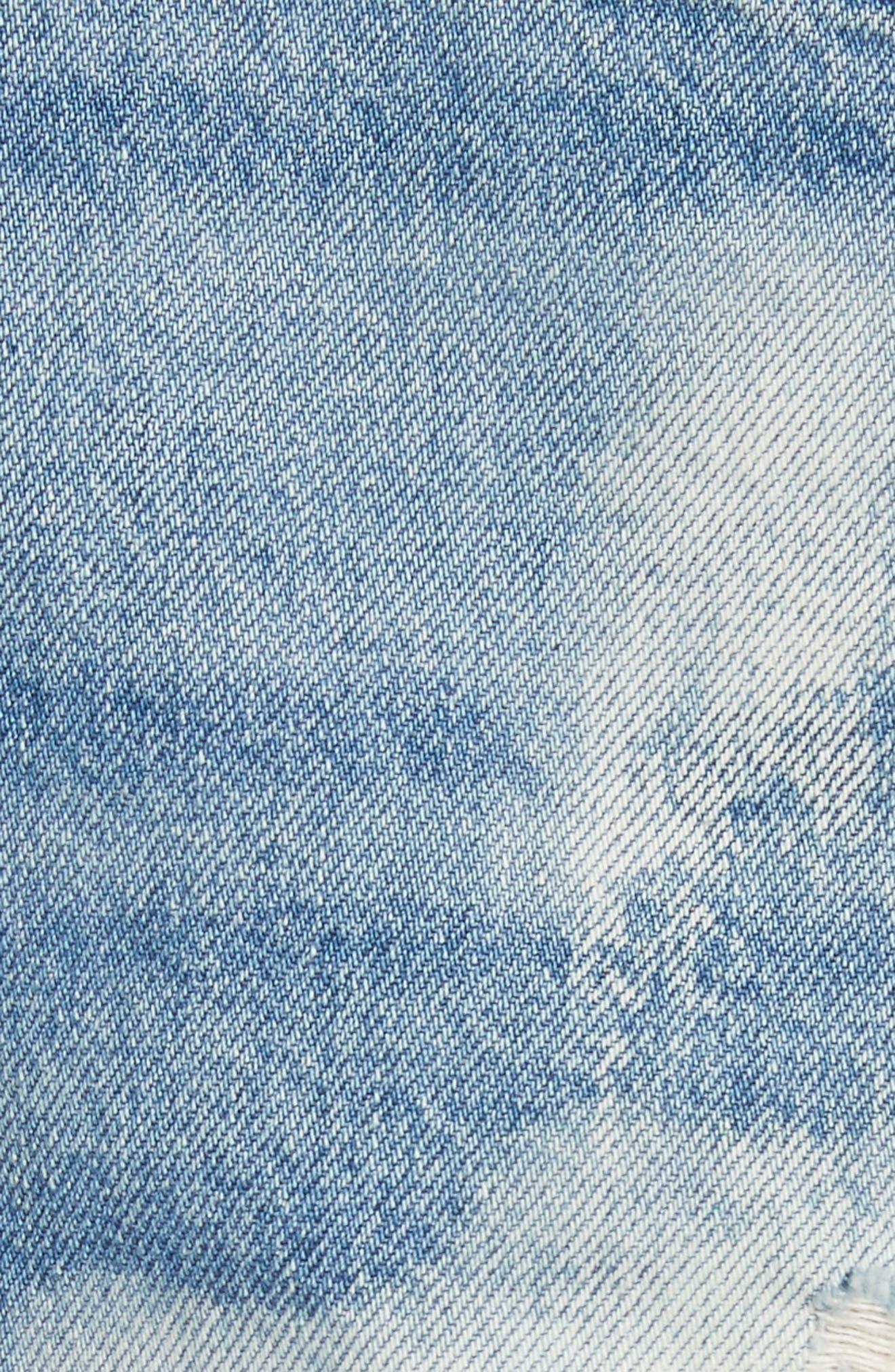 Alternate Image 5  - 3x1 NYC W2 Mason Denim Shorts (Vandal)