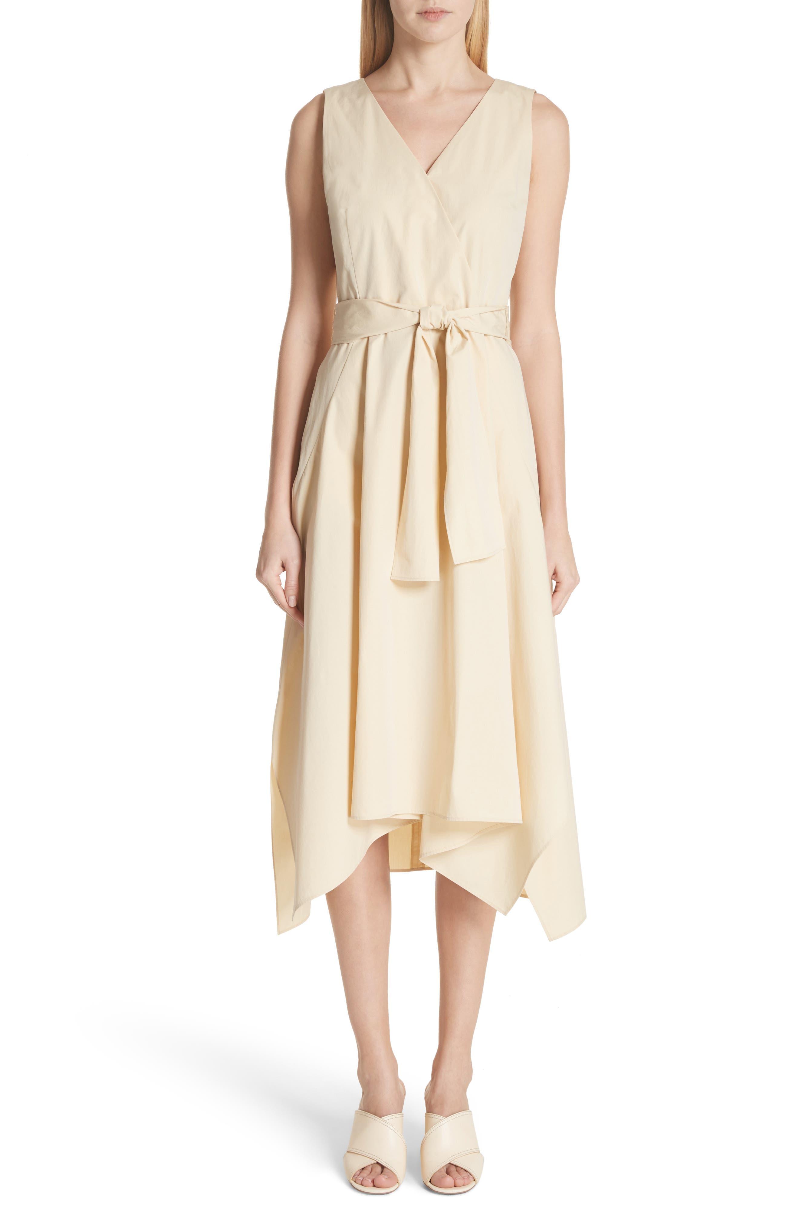 DEMETRIA POPLIN DRESS
