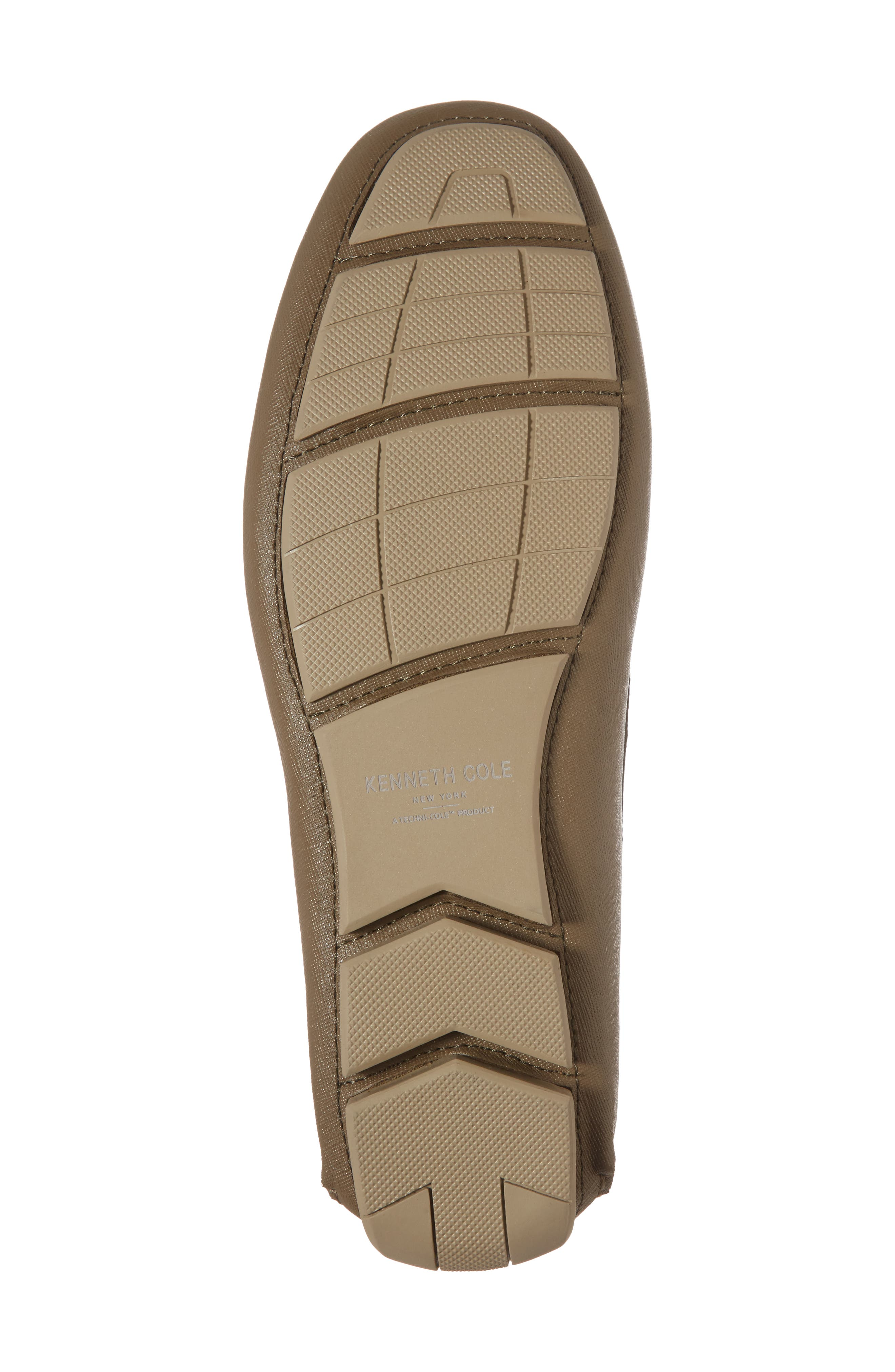 Theme Song Driving Shoe,                             Alternate thumbnail 6, color,                             Taupe Leather
