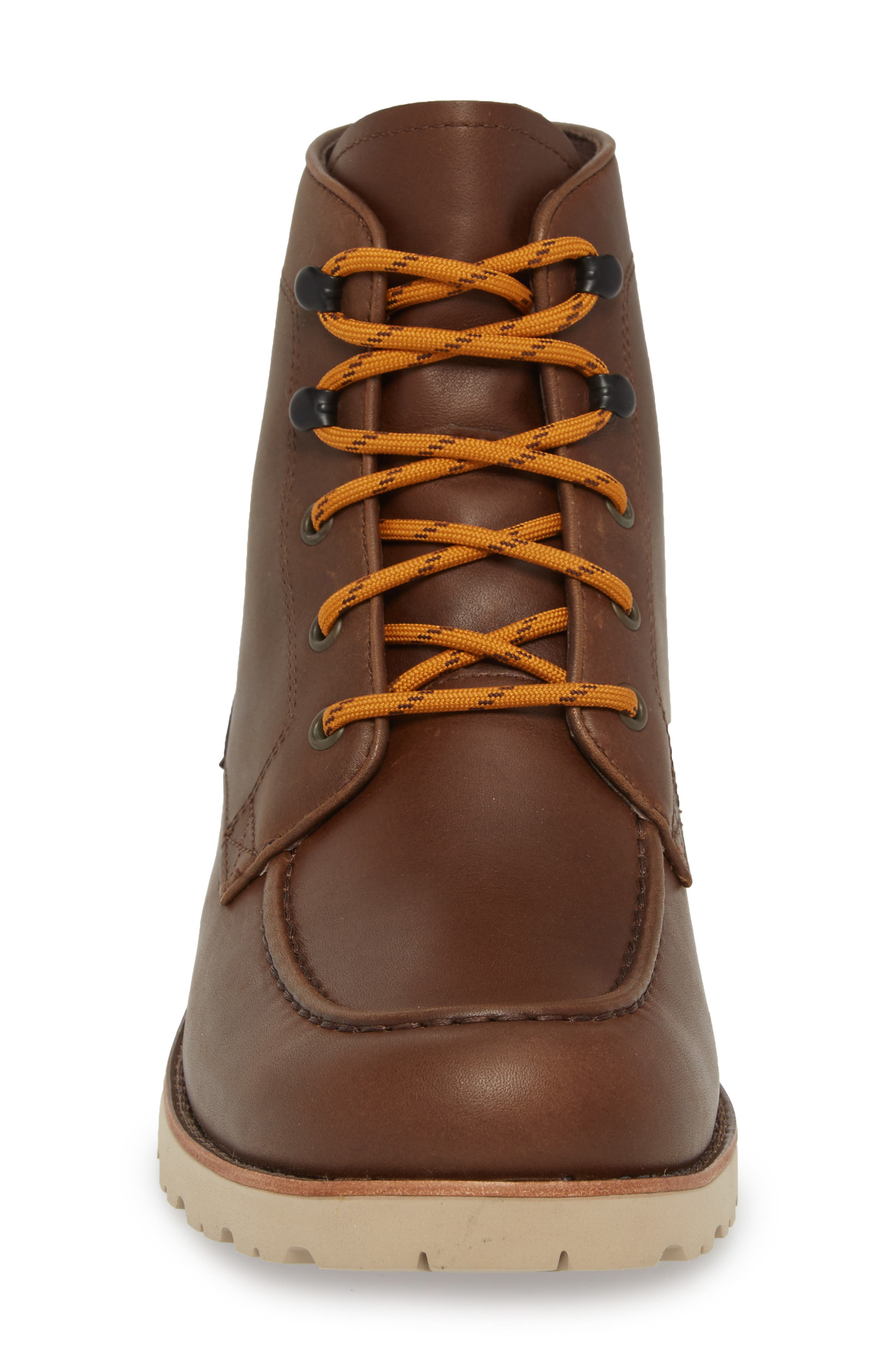 Agnar Moc Toe Boot,                             Alternate thumbnail 4, color,                             Grizzly