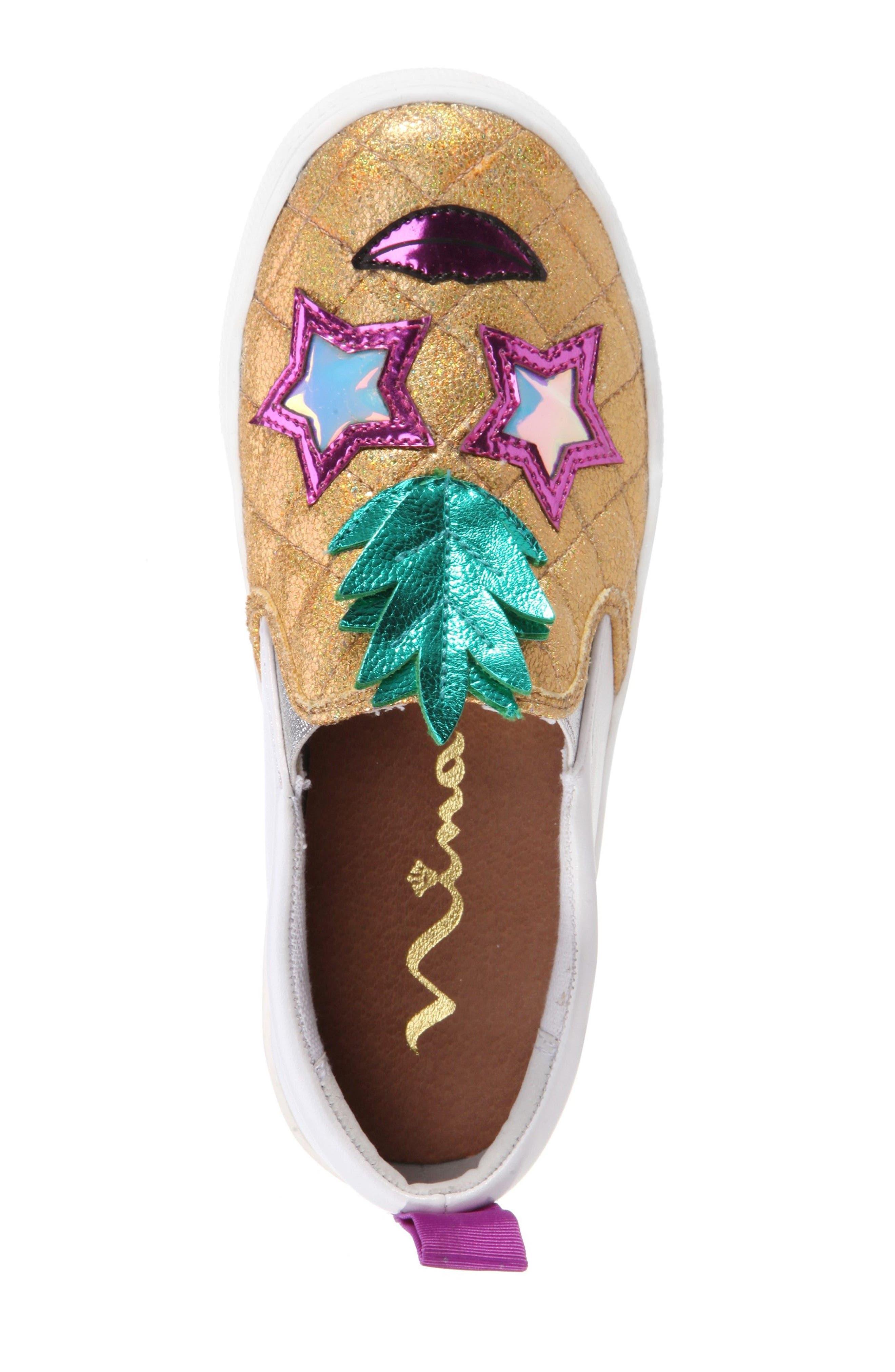 Alternate Image 5  - Nina Samanntha Pineapple Slip-On Sneaker (Toddler, Little Kid & Big Kid)
