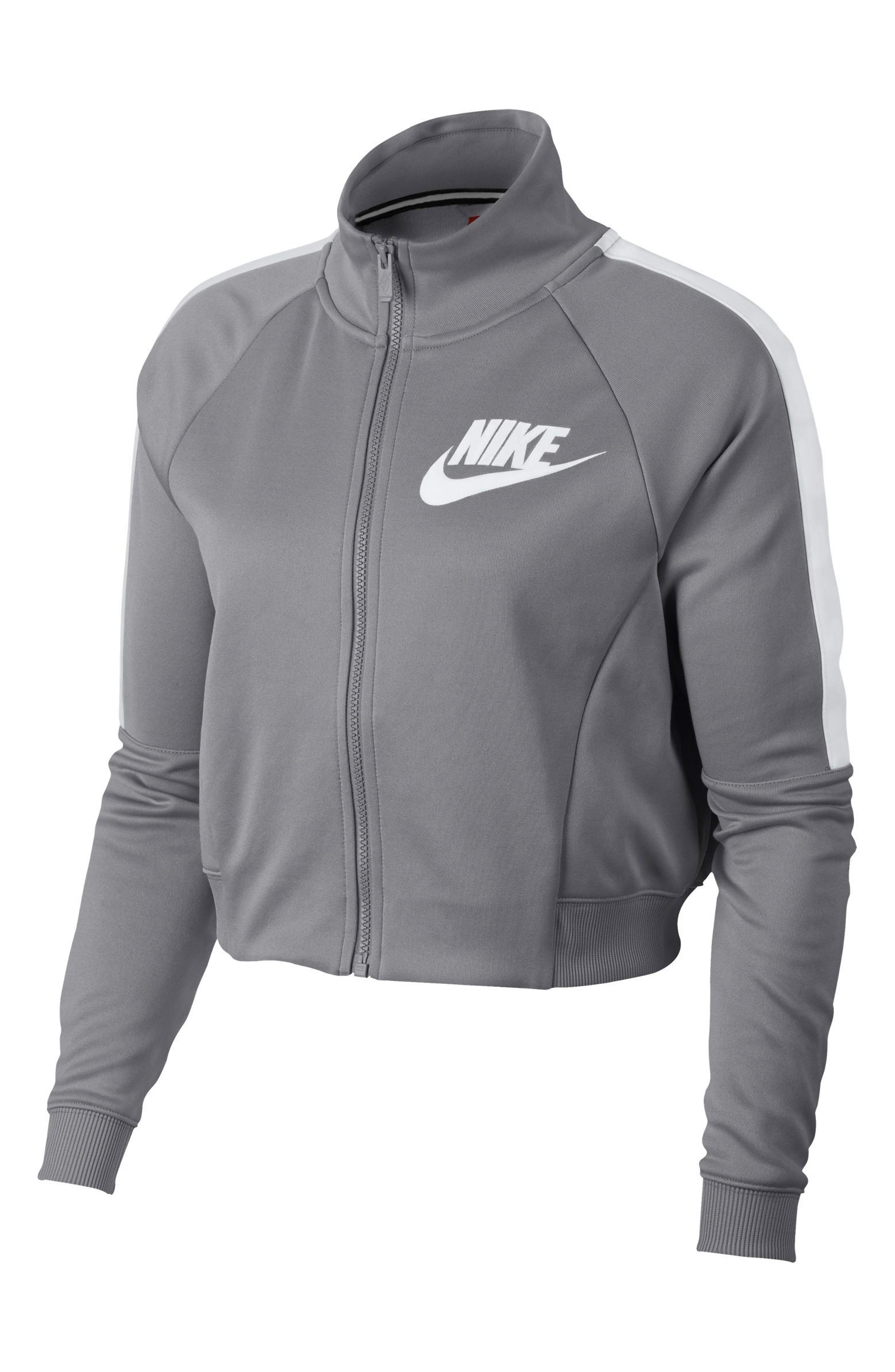 Sportswear N98 Jacket,                             Main thumbnail 1, color,                             Atmosphere Grey/ White