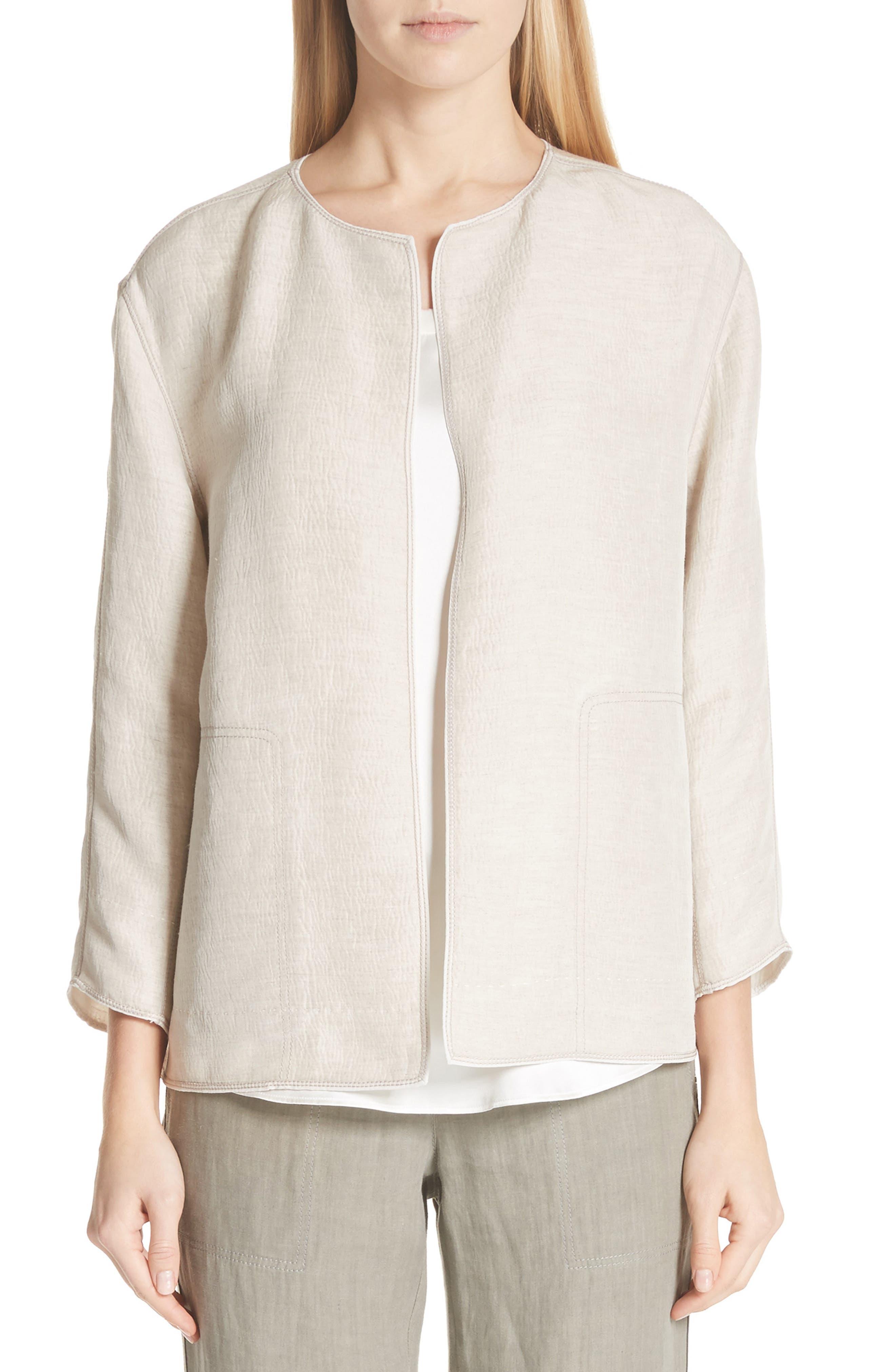 Milo Textured Jacket,                             Main thumbnail 1, color,                             Khaki Multi