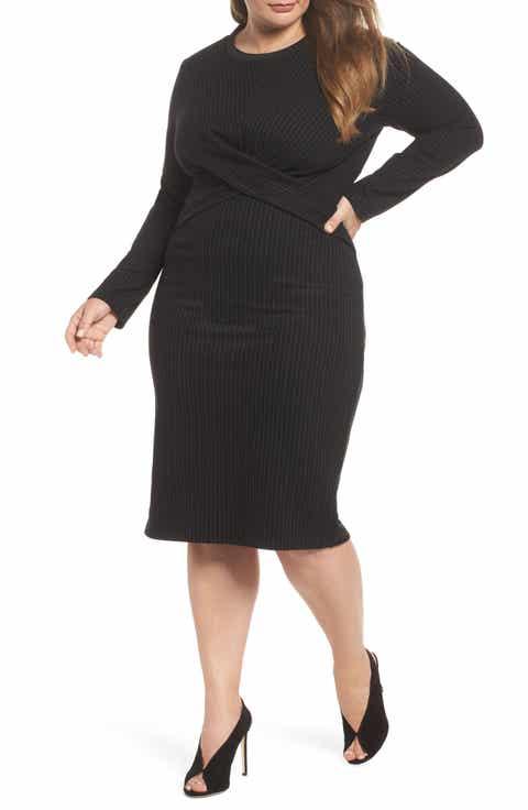 Women\'s Black Cocktail & Party Plus-Size Dresses | Nordstrom