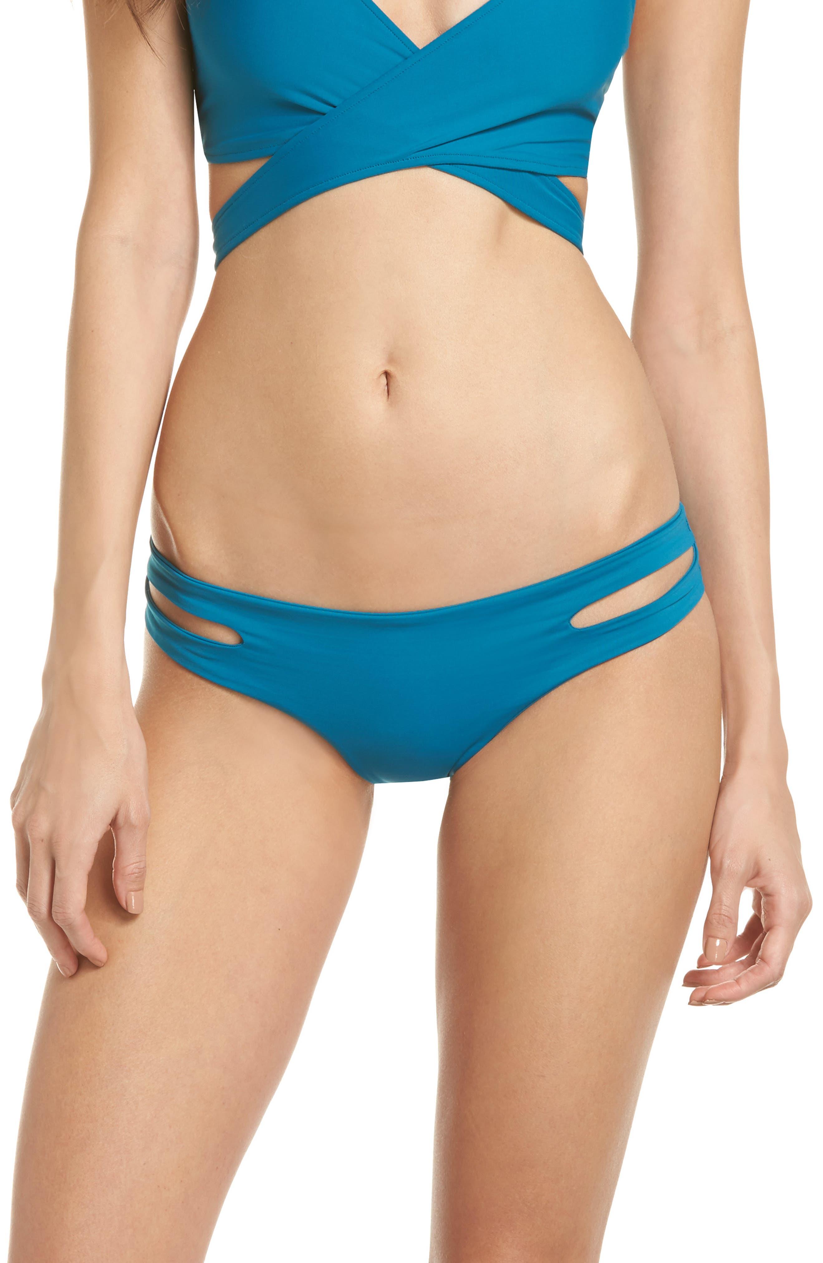 Estella Classic Bikini Bottoms,                         Main,                         color, Mediterranean